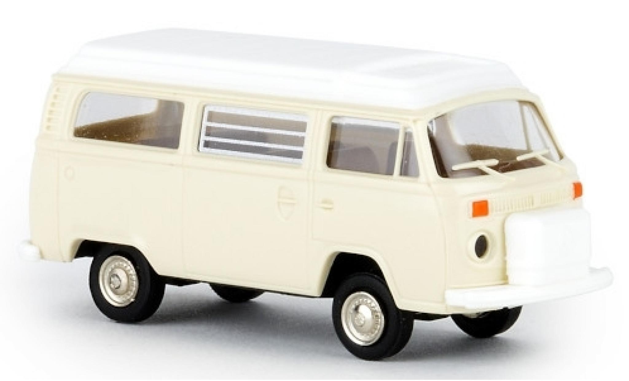 Volkswagen T2 1/87 Brekina Camper beige 1972 avec Aufstelldach
