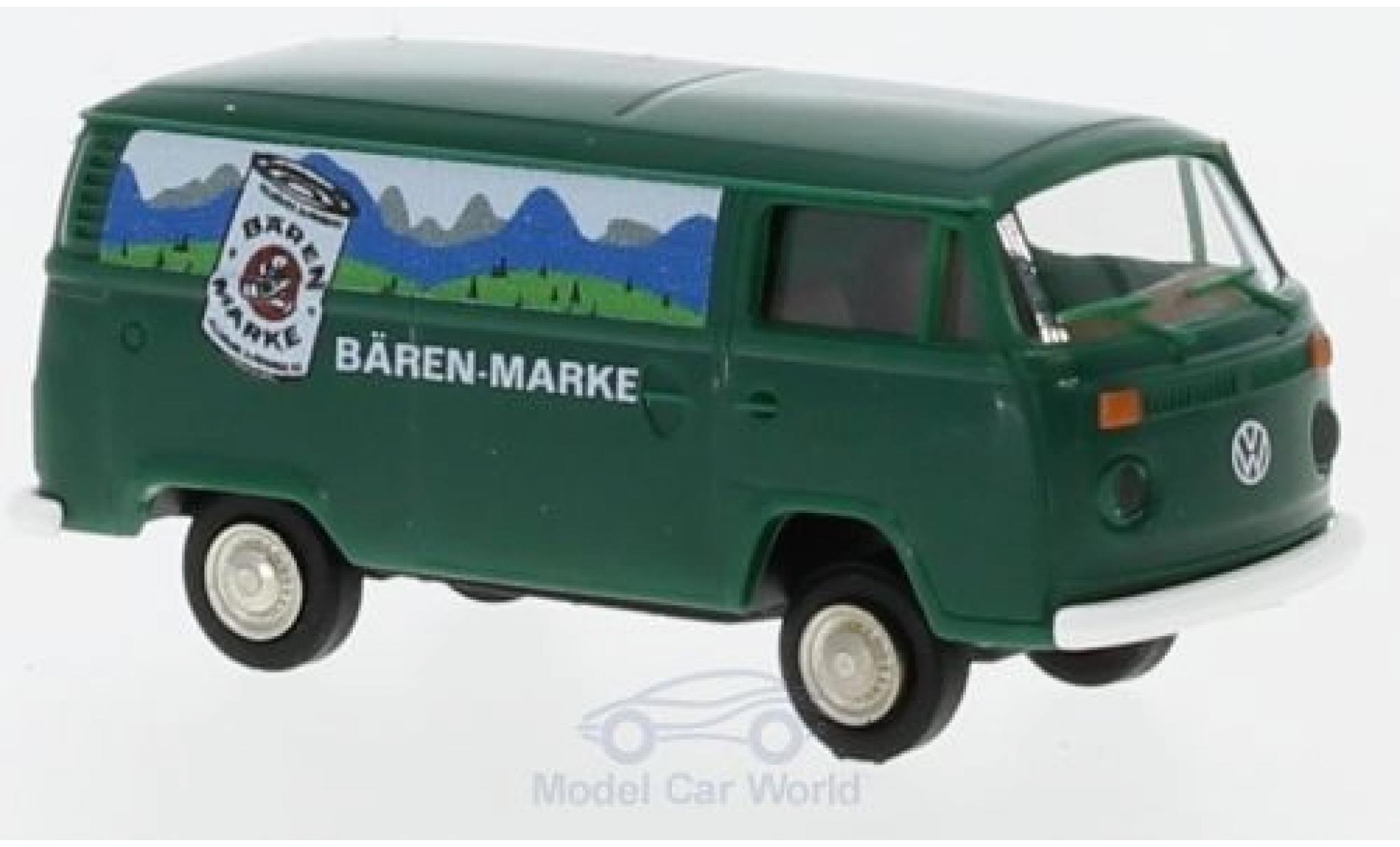 Volkswagen T2 B 1/87 Brekina Kasten ären-Marke