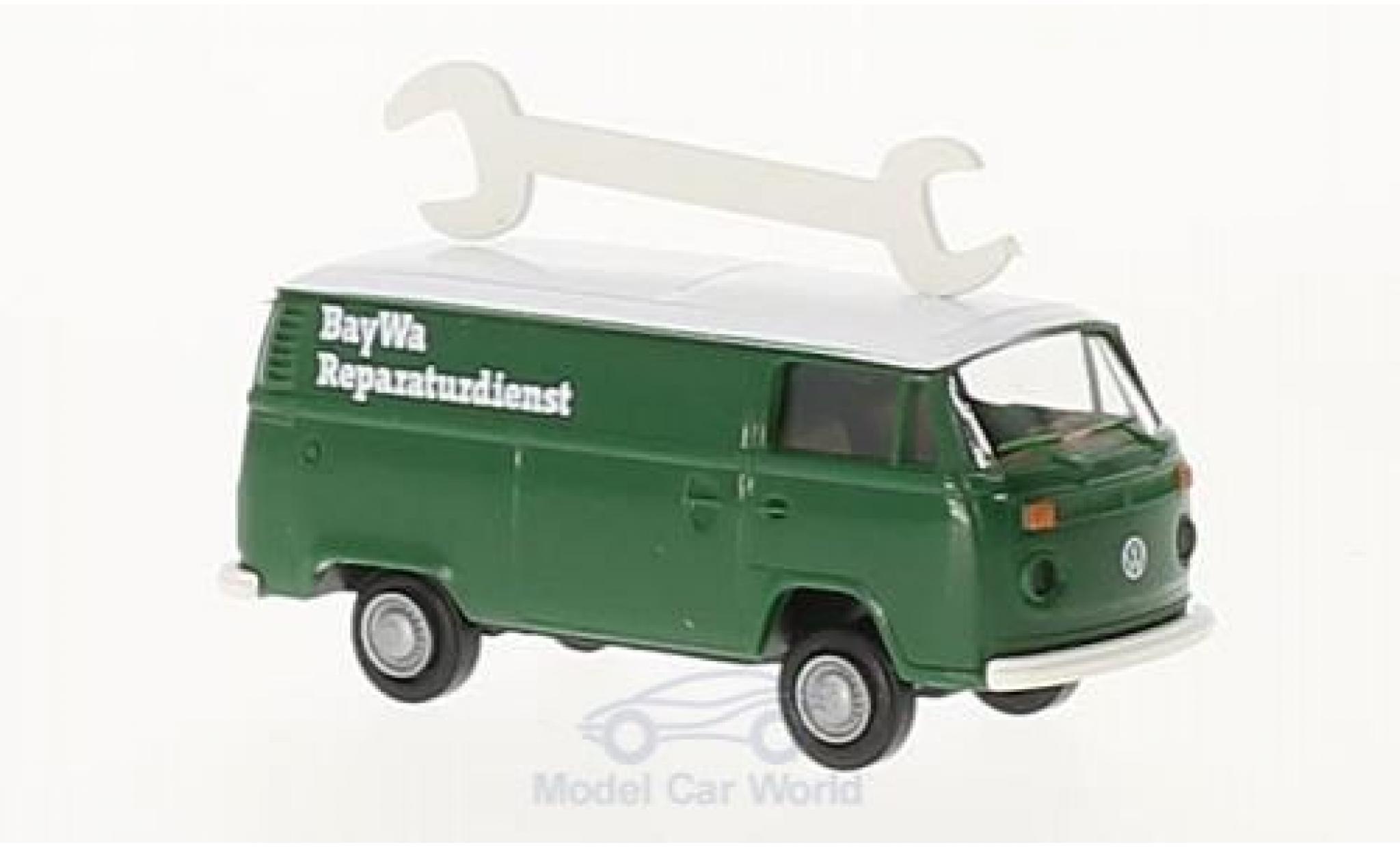 Volkswagen T2 1/87 Brekina Kasten BayWa Reparaturdienst