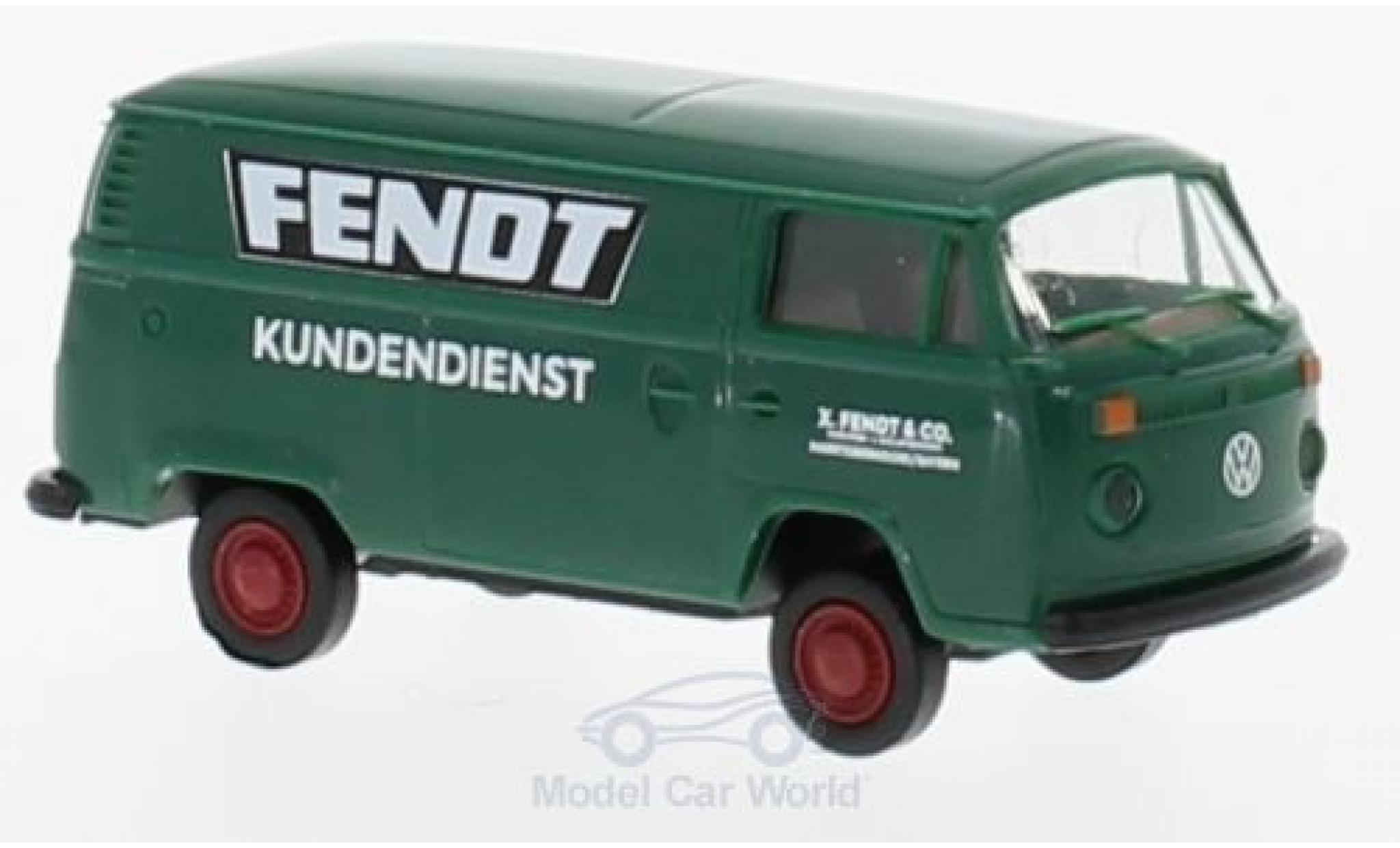 Volkswagen T2 A 1/87 Brekina Kasten Fendt Kundendienst
