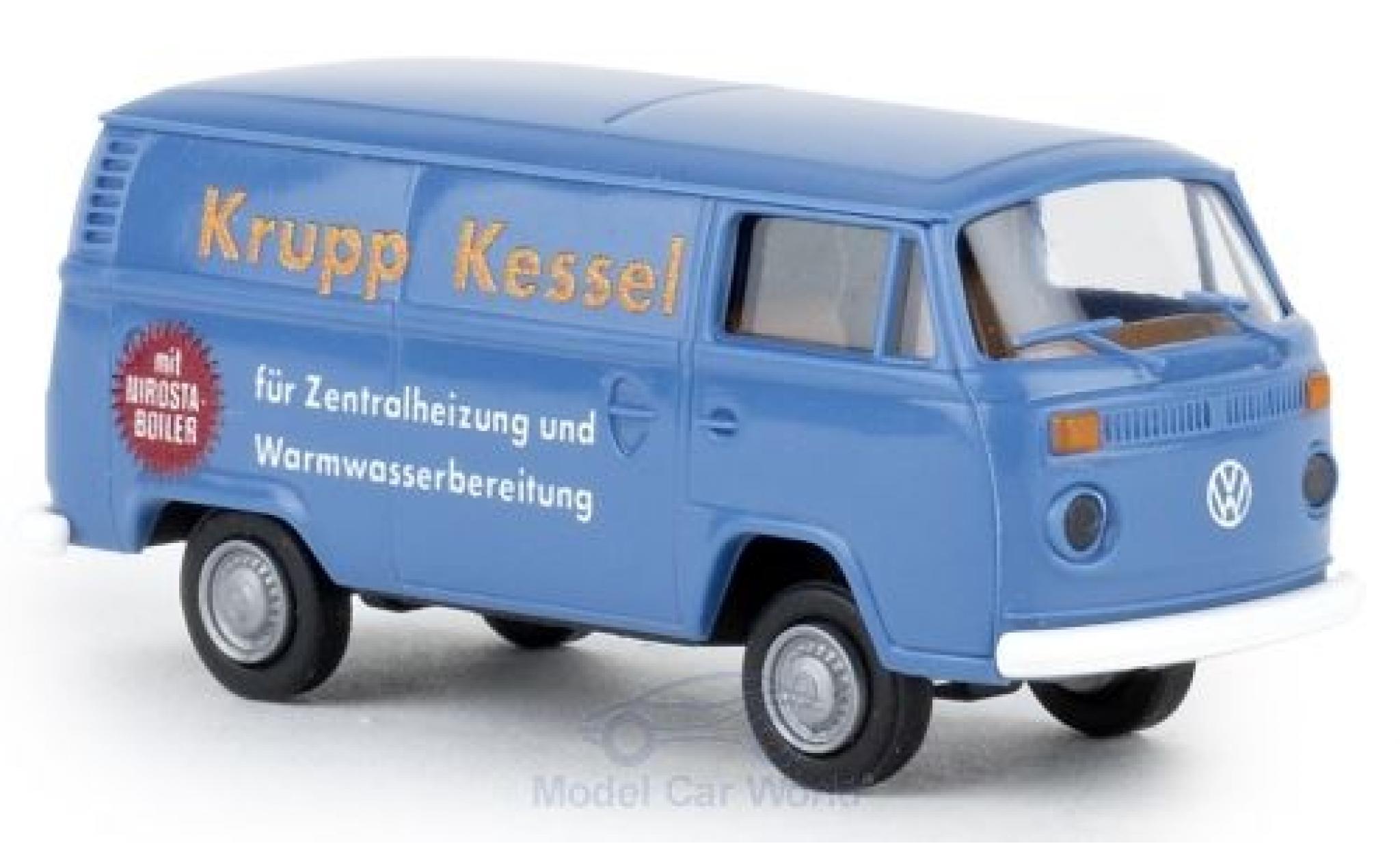Volkswagen T2 1/87 Brekina Kasten Krupp Kessel