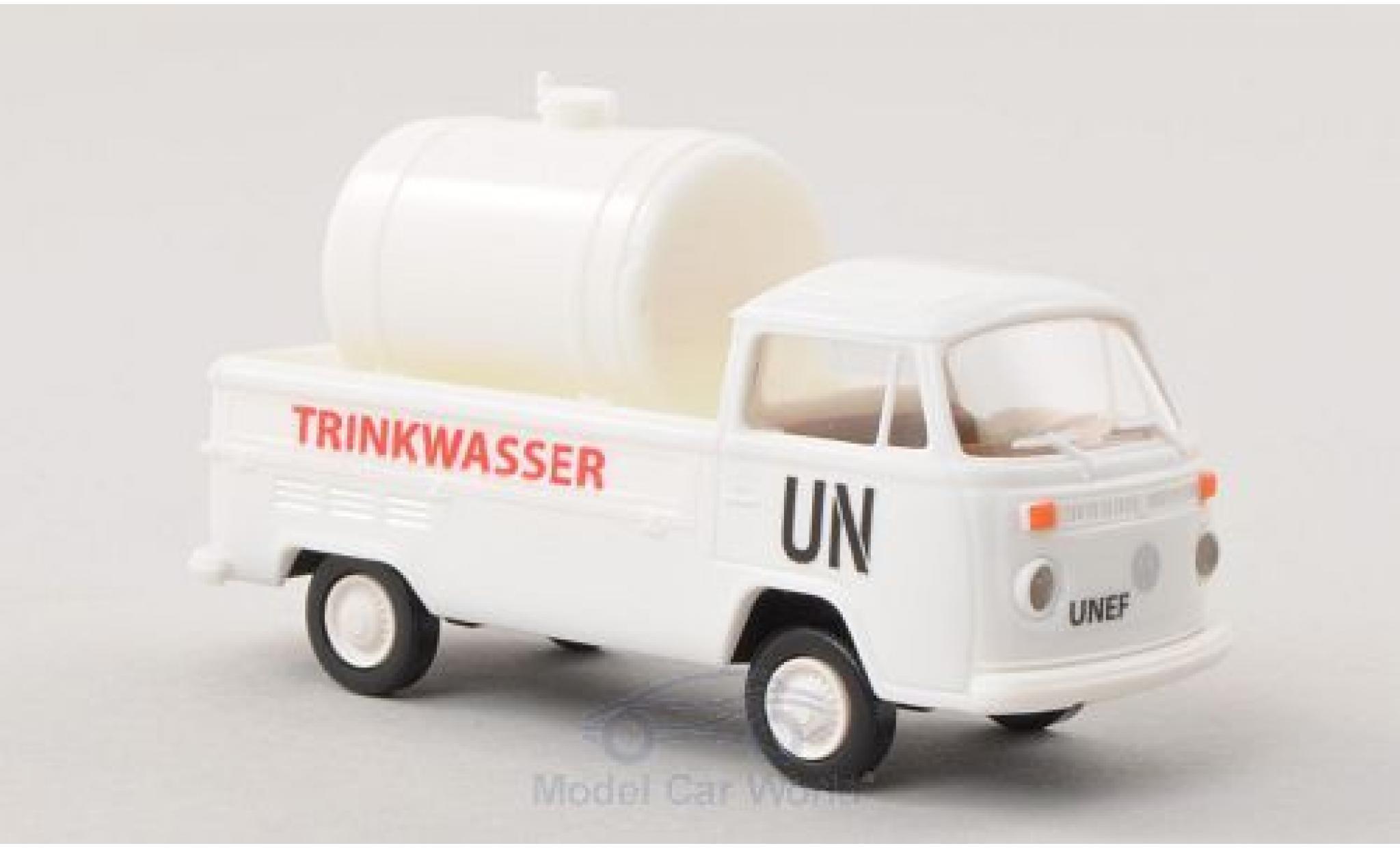 Volkswagen T2 A 1/87 Brekina UN - Trinkwasser mit Ladegut