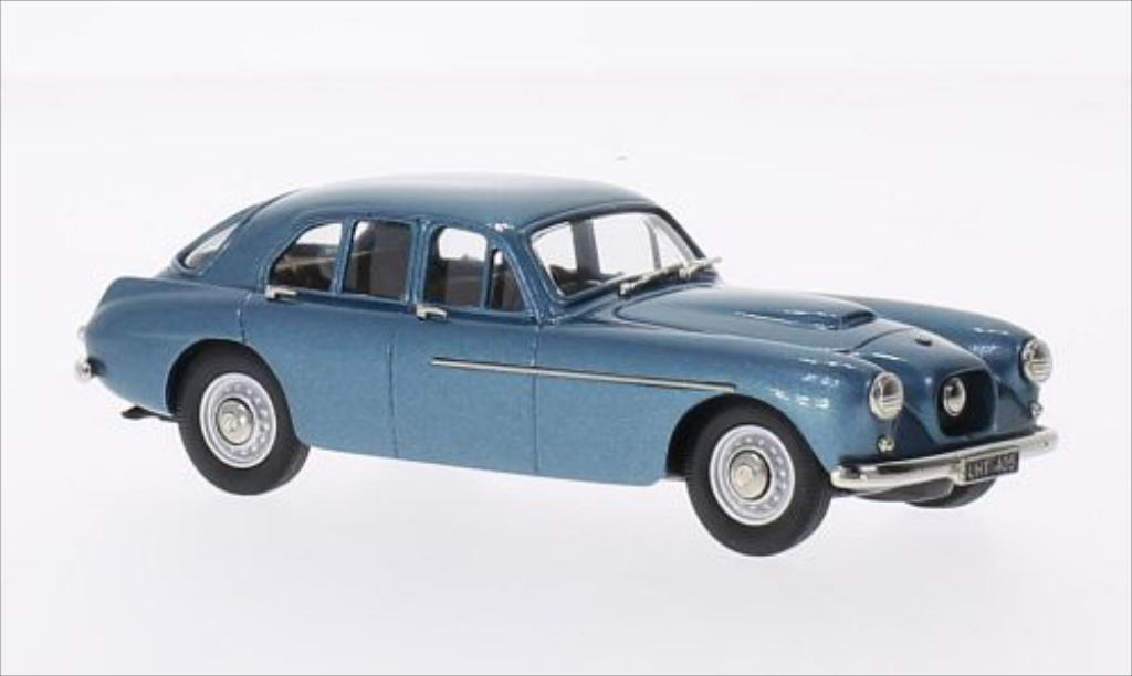 Bristol 405 1/43 Brooklin metallise bleu 1955 miniature