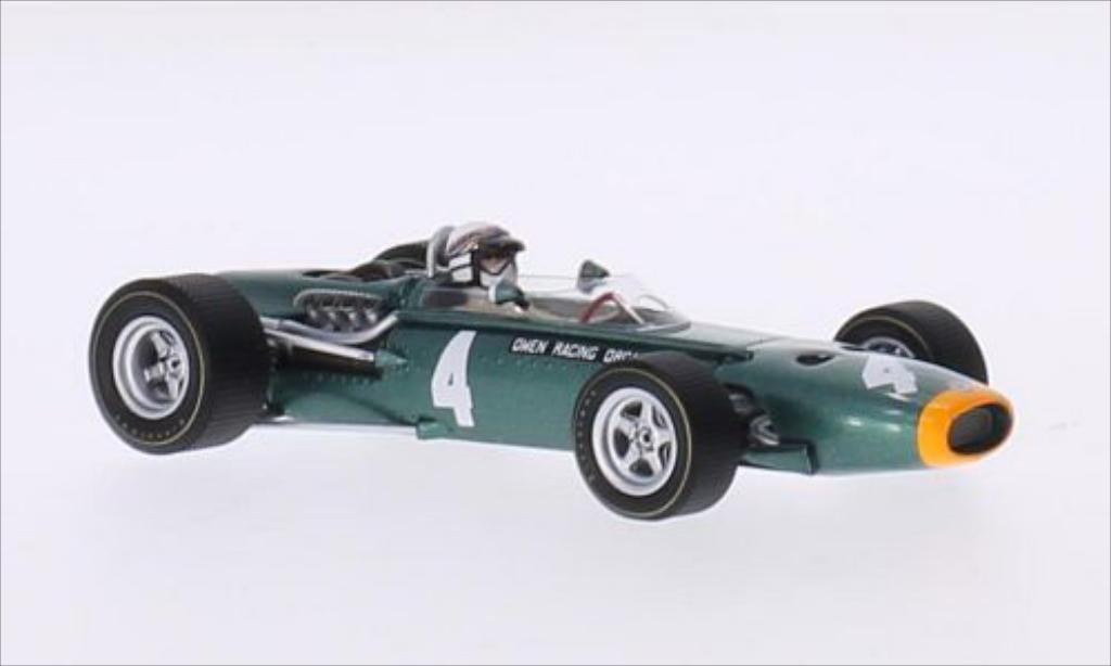 BRM P261 1/43 Spark No.4 Owen Racing Organisation Formel 1 GP Monaco 1967 miniature