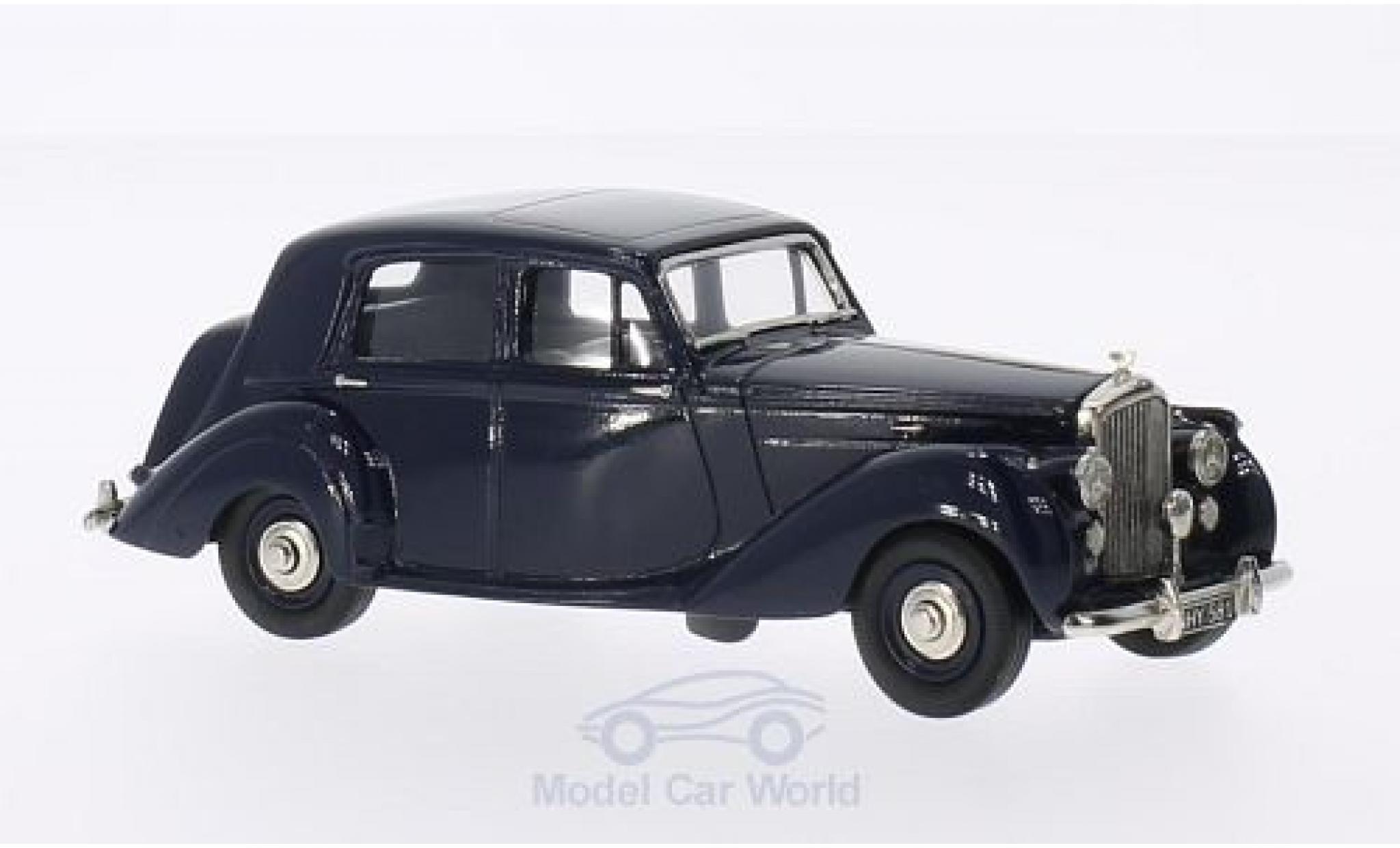 Bentley Mark 6 1/43 Brooklin MK VI 4-door Sallon bleue 1951