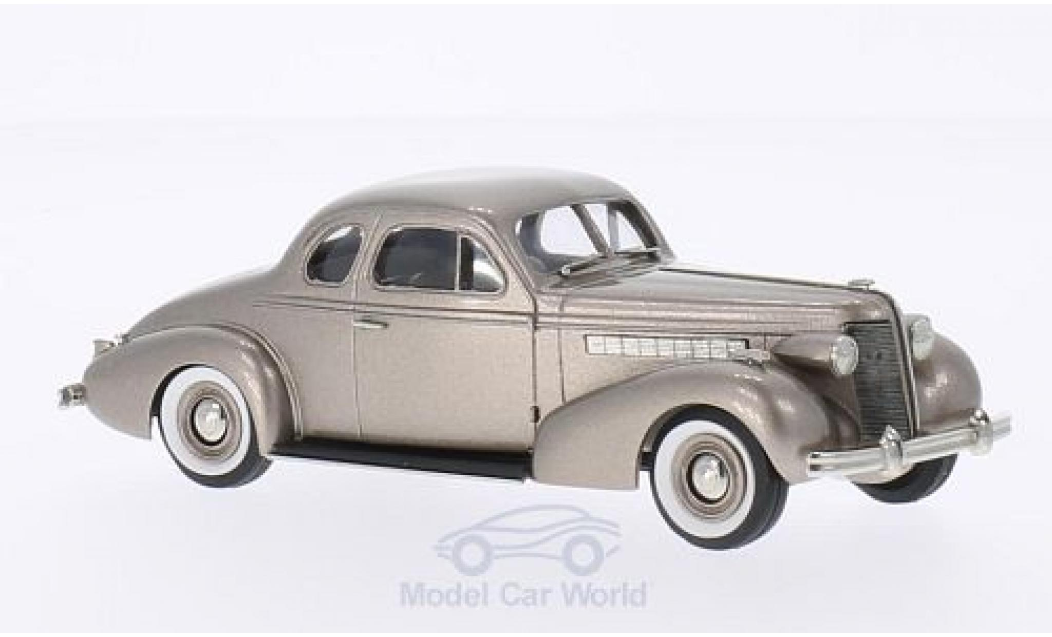 Buick Special 1/43 Brooklin 2-door Coupe M-46 metallise beige 1937