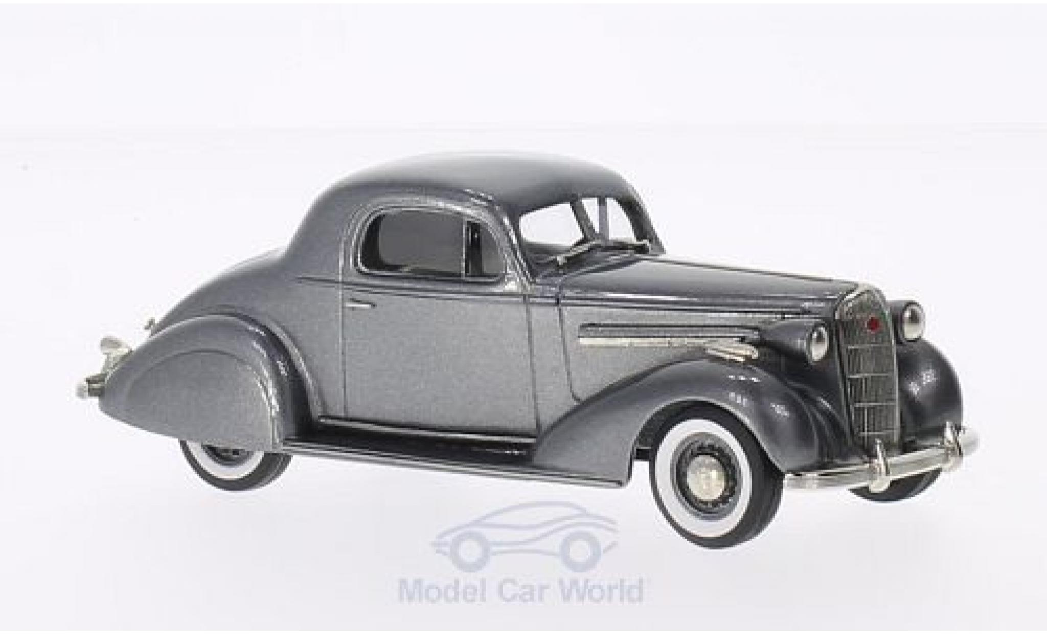 Buick Special 1/43 Brooklin Sport Coupe M-46S metallise grise 1936