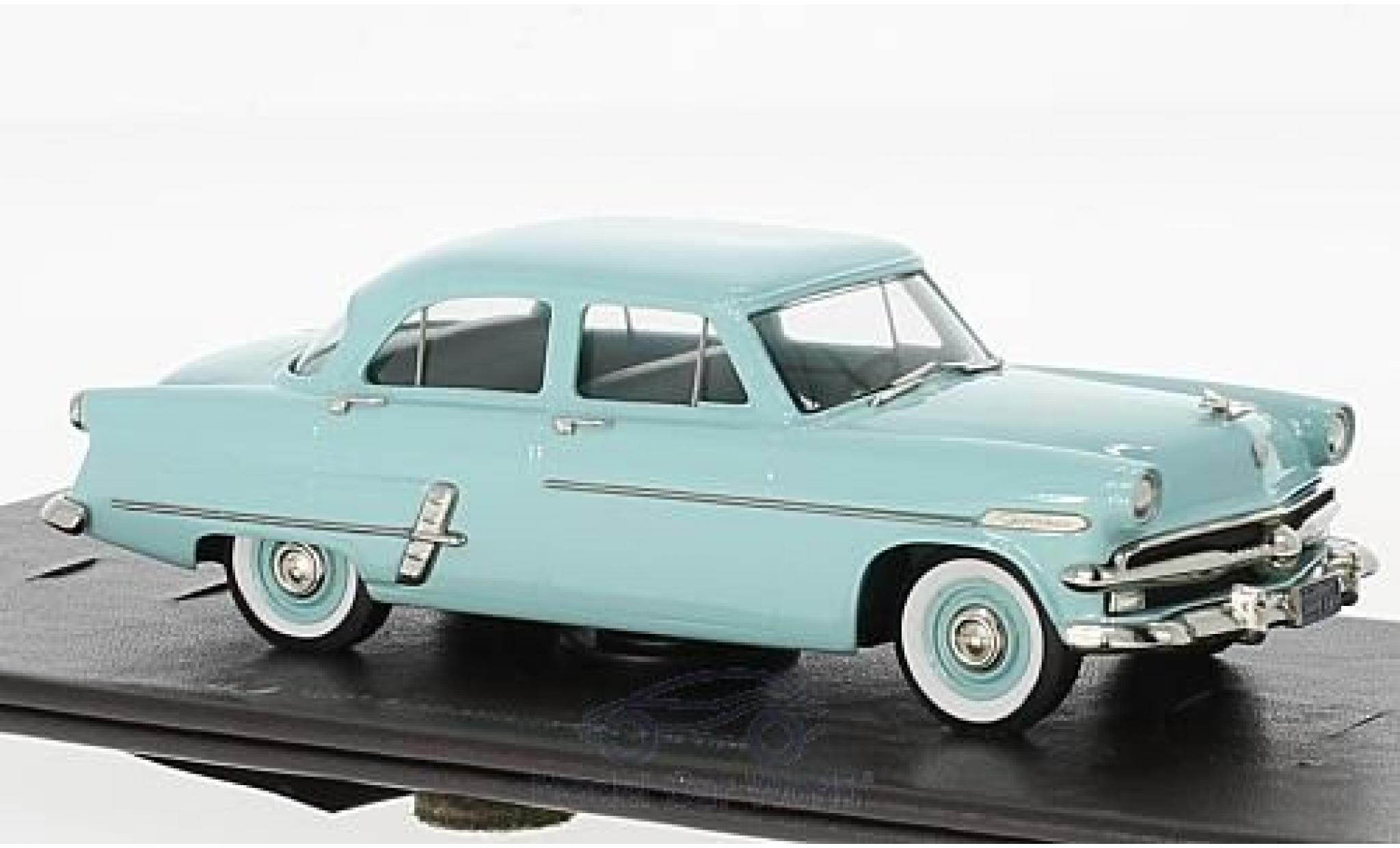 Ford Custom 1/43 Brooklin line 4-Door Sedan turquoise 1953