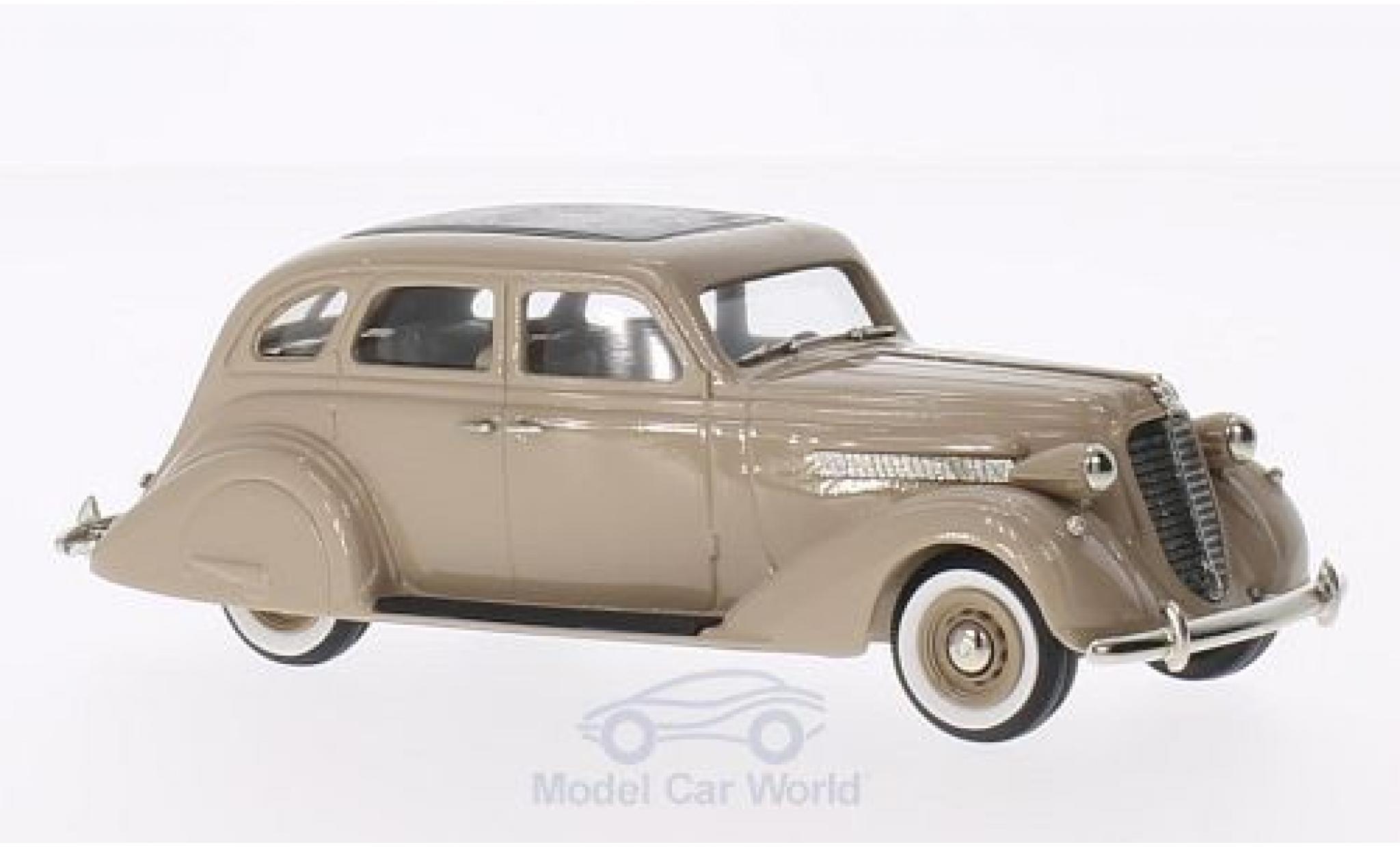Nash Ambassador 1/43 Brooklin Eight Sedan marron 1935