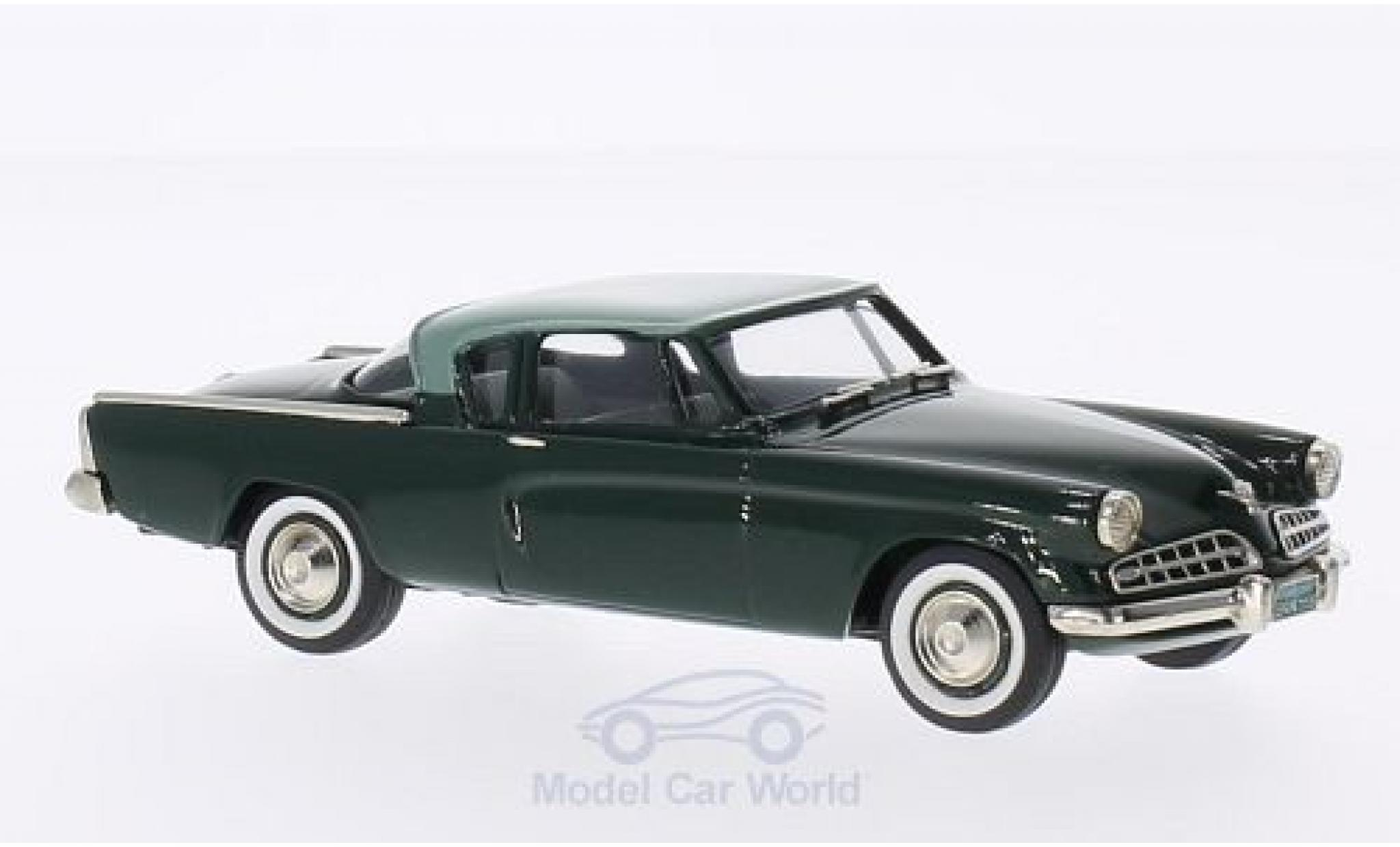 Studebaker Commander 1/43 Brooklin Coupe verte/verte 1954