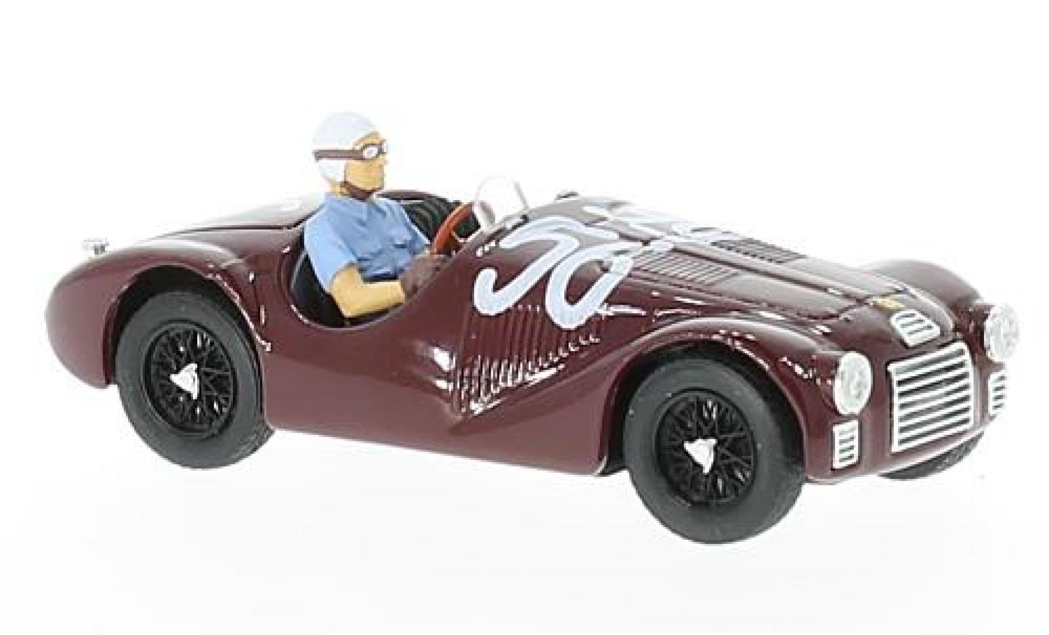 Ferrari 125 1/43 Brumm S RHD No.56 GP Rom 1947 La Vittoria Assoluta 70. Anniverary F.Cortese