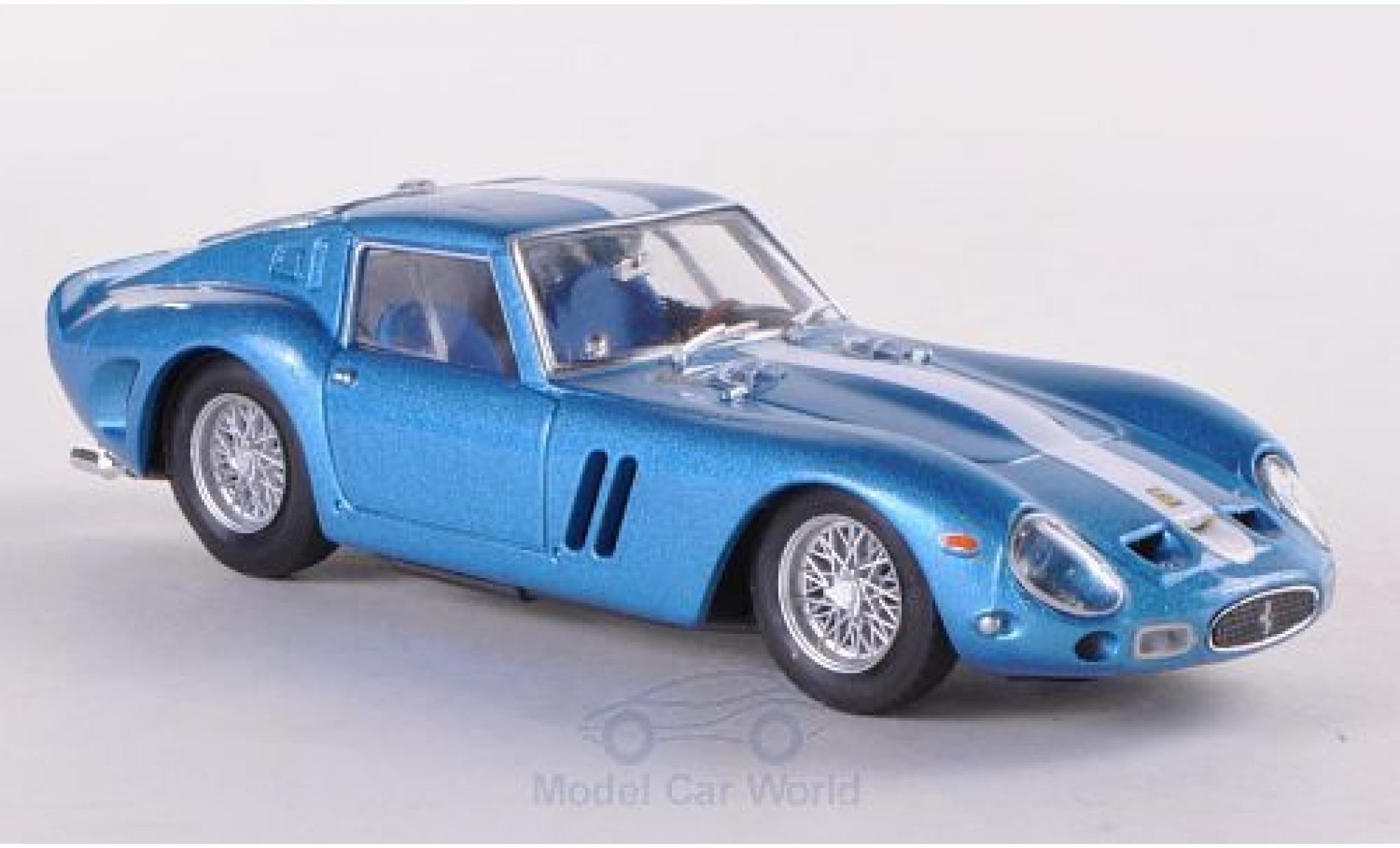 Ferrari 250 GTO 1/43 Brumm GTO metallic-bleue/Dekor 1962 Chinetti Motors