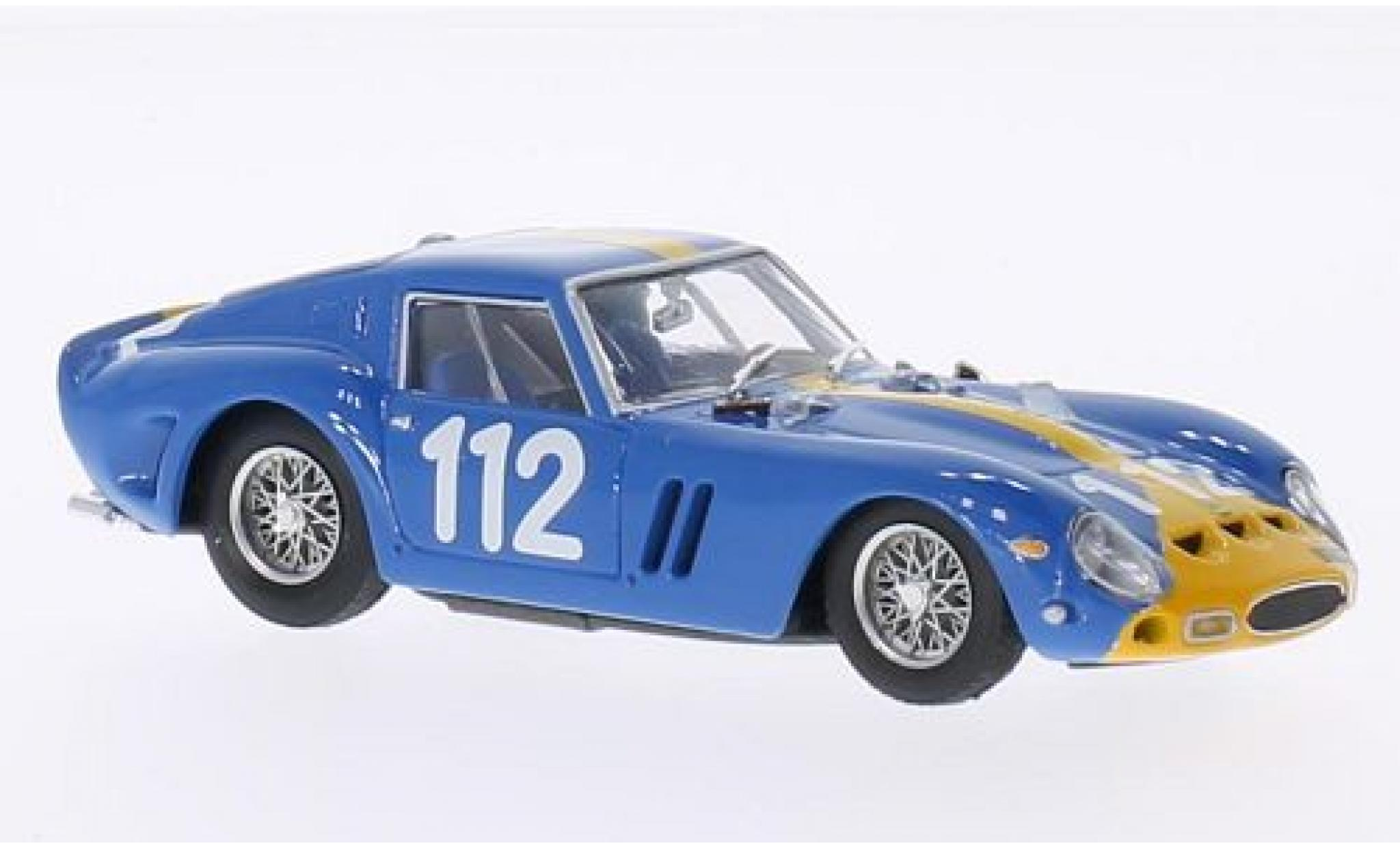 Ferrari 250 1/43 Brumm GTO No.112 Targa Florio 1964 châssis 3445GT U.Norinder/P.Troberg