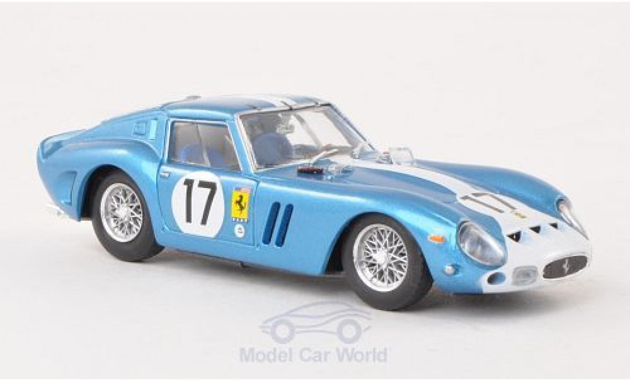 Ferrari 250 1/43 Brumm GTO No.17 Scuderia N.A.R.T. 24h Le Mans 1962 Chassis 3387GT