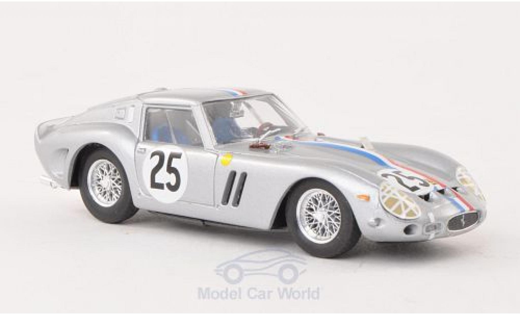 Ferrari 250 1/43 Brumm GTO No.25 National-Team Belgium 24h Le Mans 1963 Chassis 4153GT
