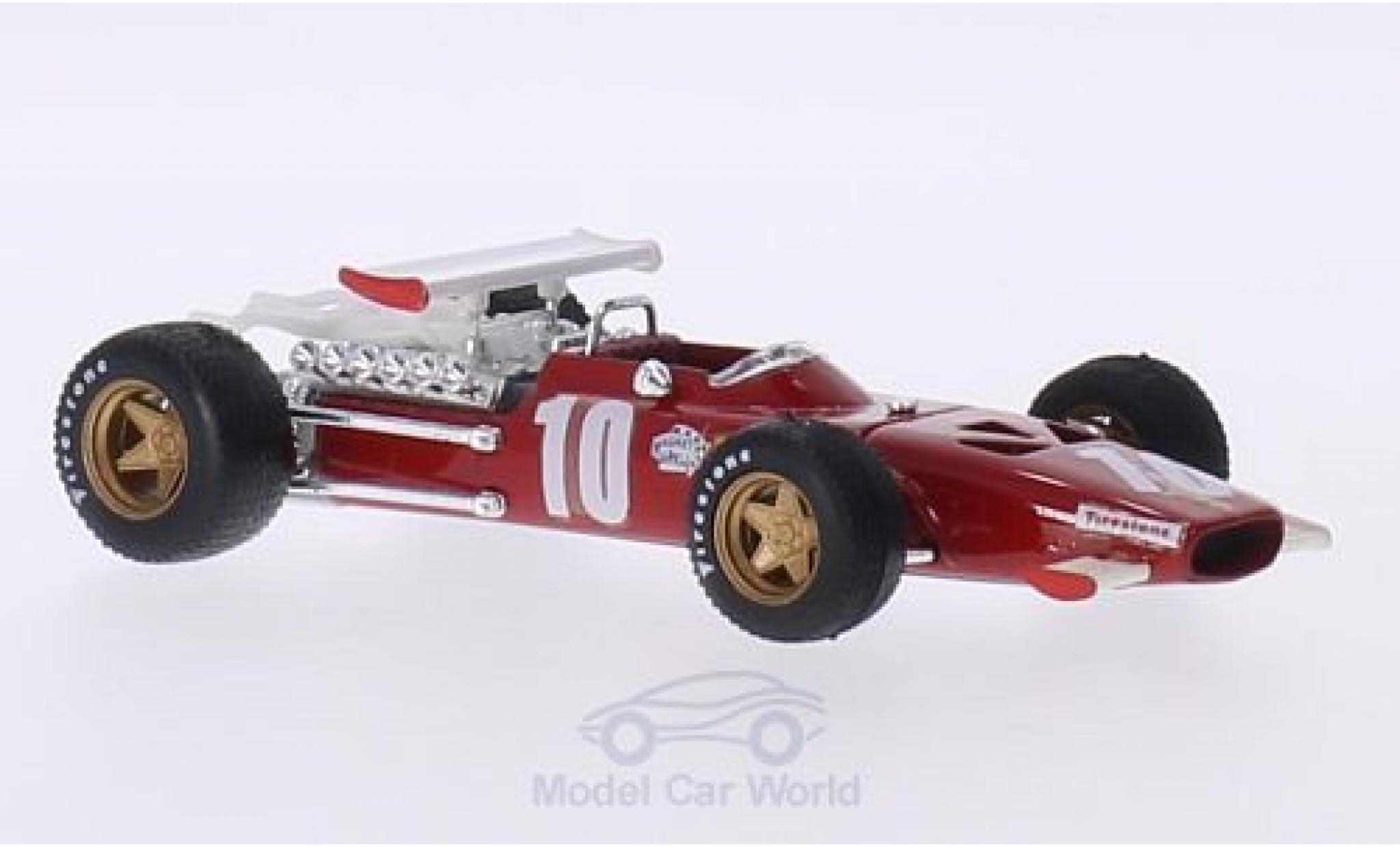 Ferrari 312 P 1/43 Brumm F1 No.10 Formel 1 GP Italien 1969 P.Rodriguez