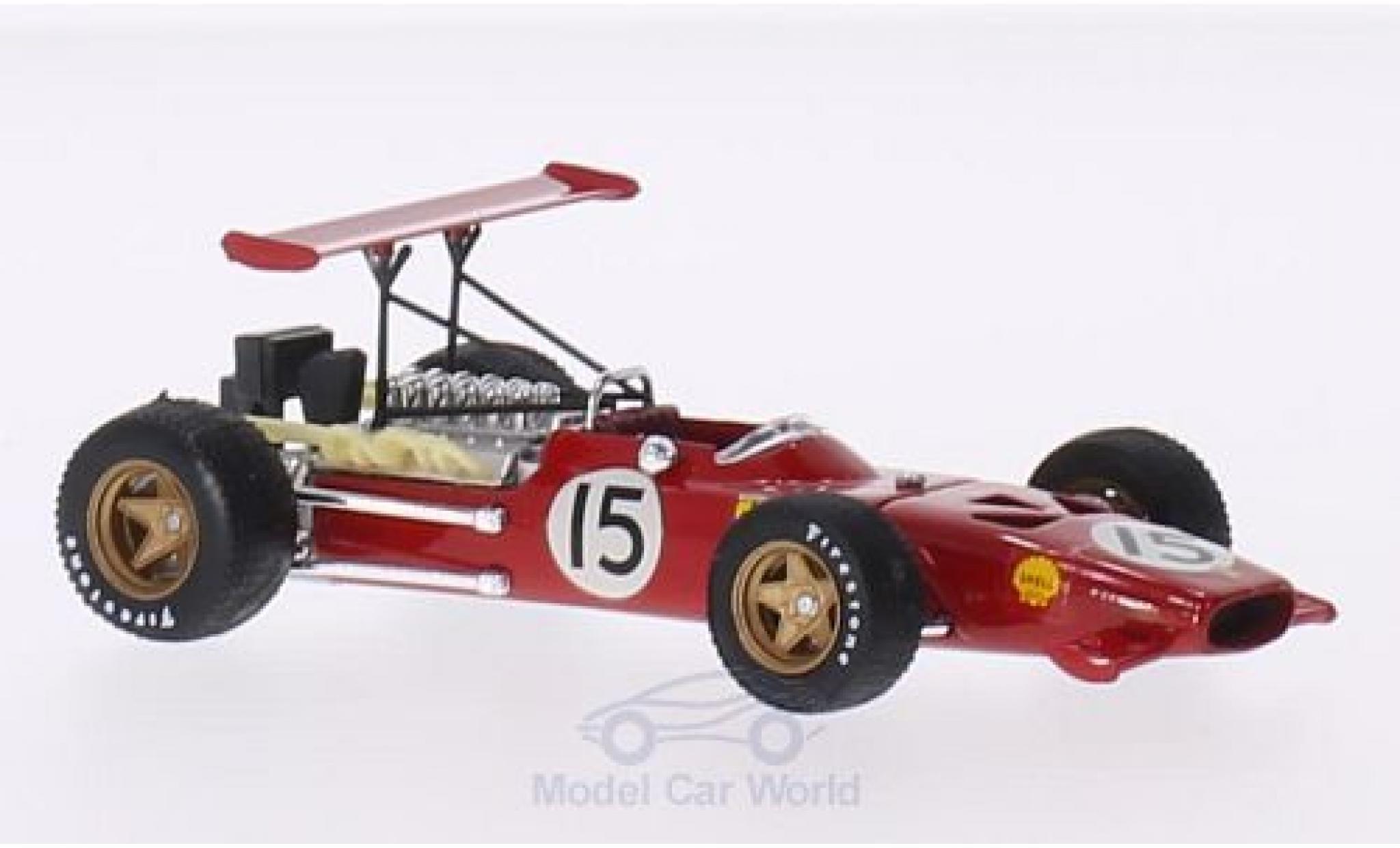 Ferrari 312 1/43 Brumm F1 No.15 Scuderia Formel 1 GP Spanien 1969 C.Amon