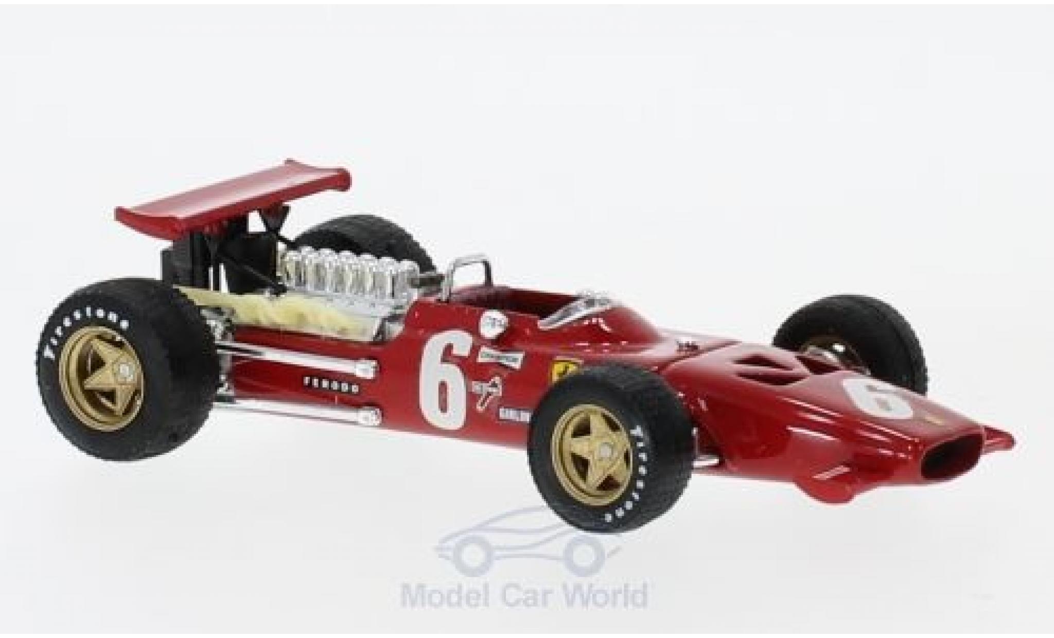 Ferrari 312 1/43 Brumm F1 No.6 Formel 1 GP Frankreich 1969 C.Amon