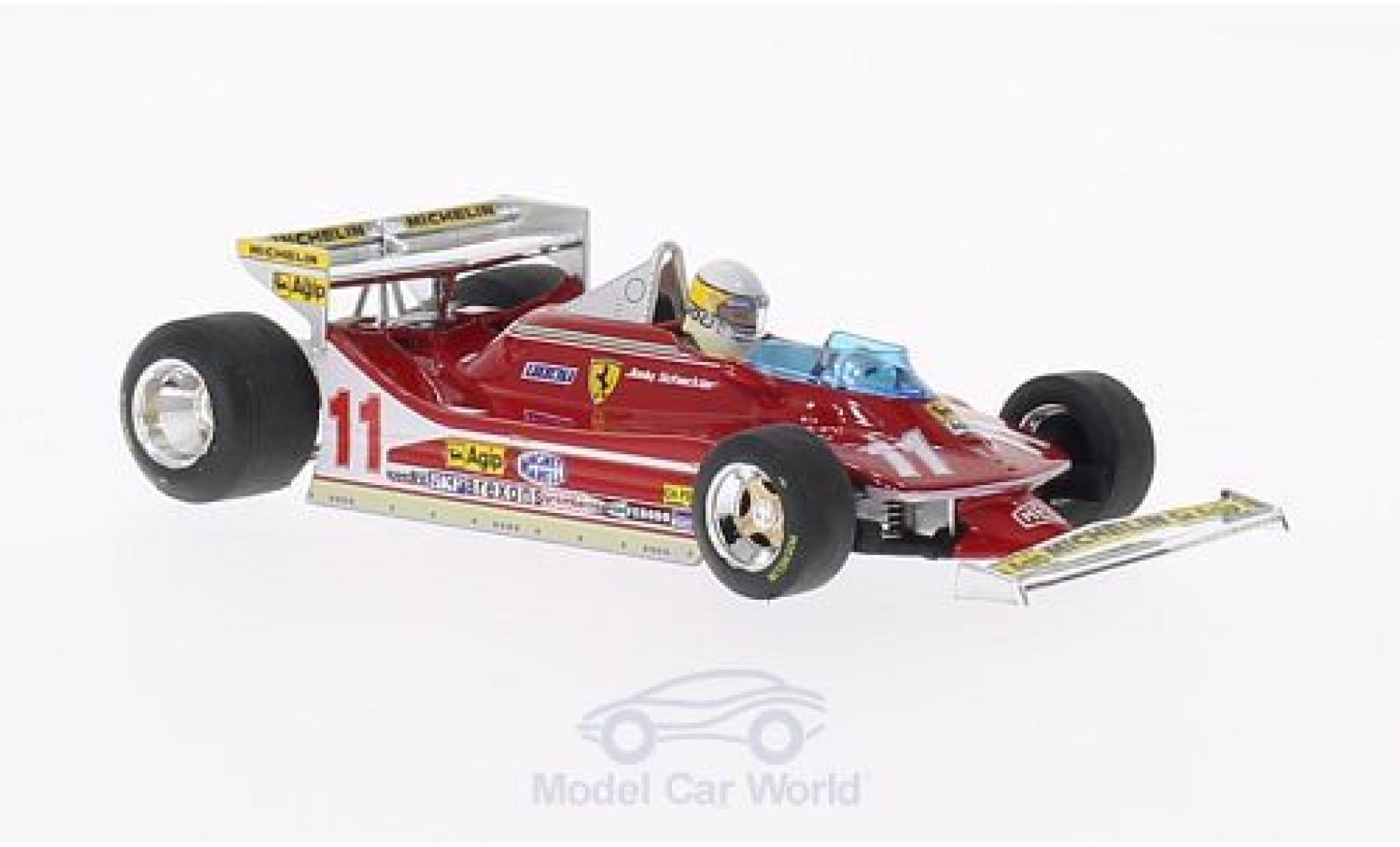 Ferrari 312 T4 1/43 Brumm T4 No.11 GP Monaco 1979 J.Scheckter