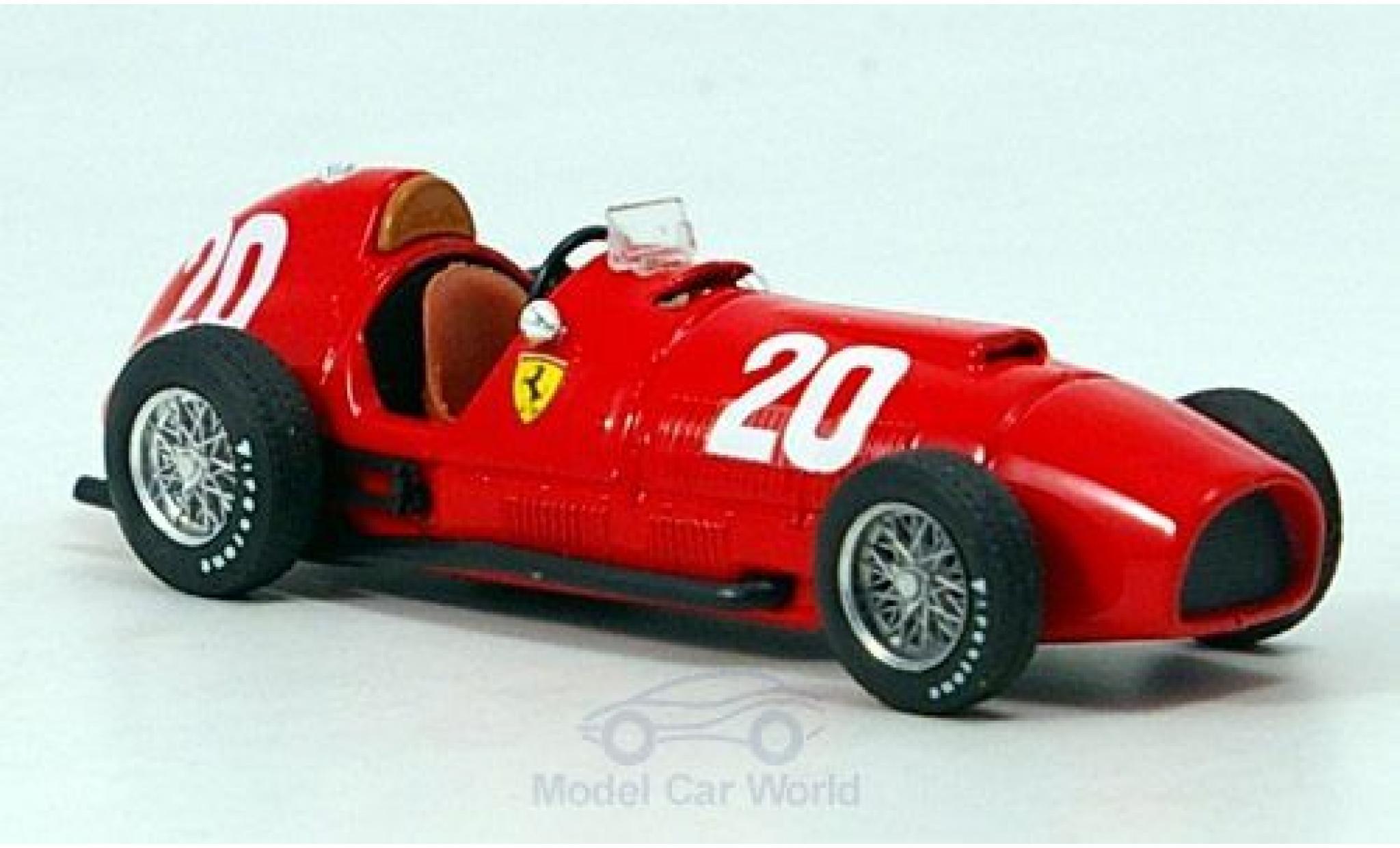 Ferrari 375 1/43 Brumm No.20 Formel 1 GP Schweiz 1951 A.Ascari