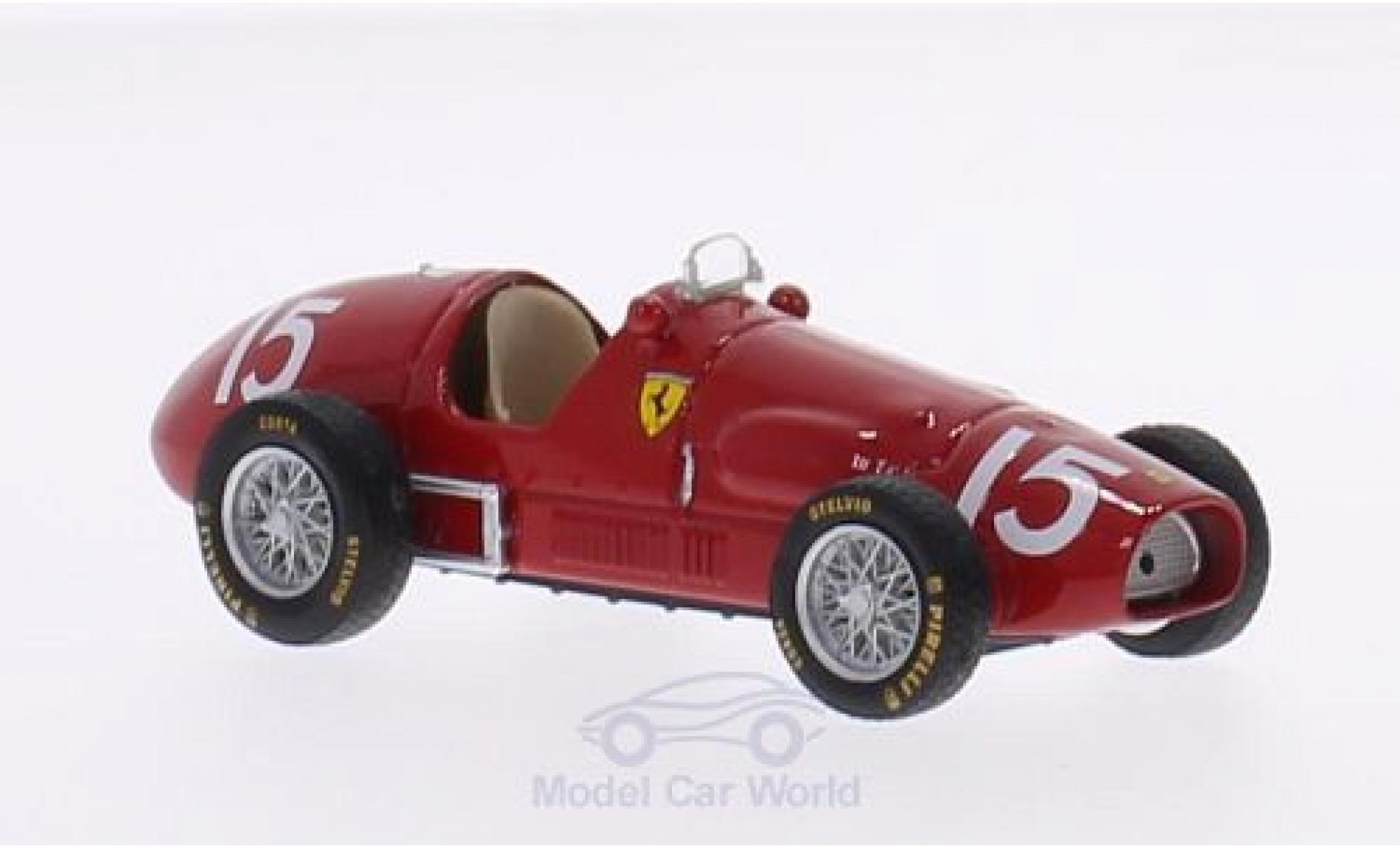 Ferrari 500 1/43 Brumm F2 No.15 Formel 2 GP Großbritannien 1952 A.Ascari