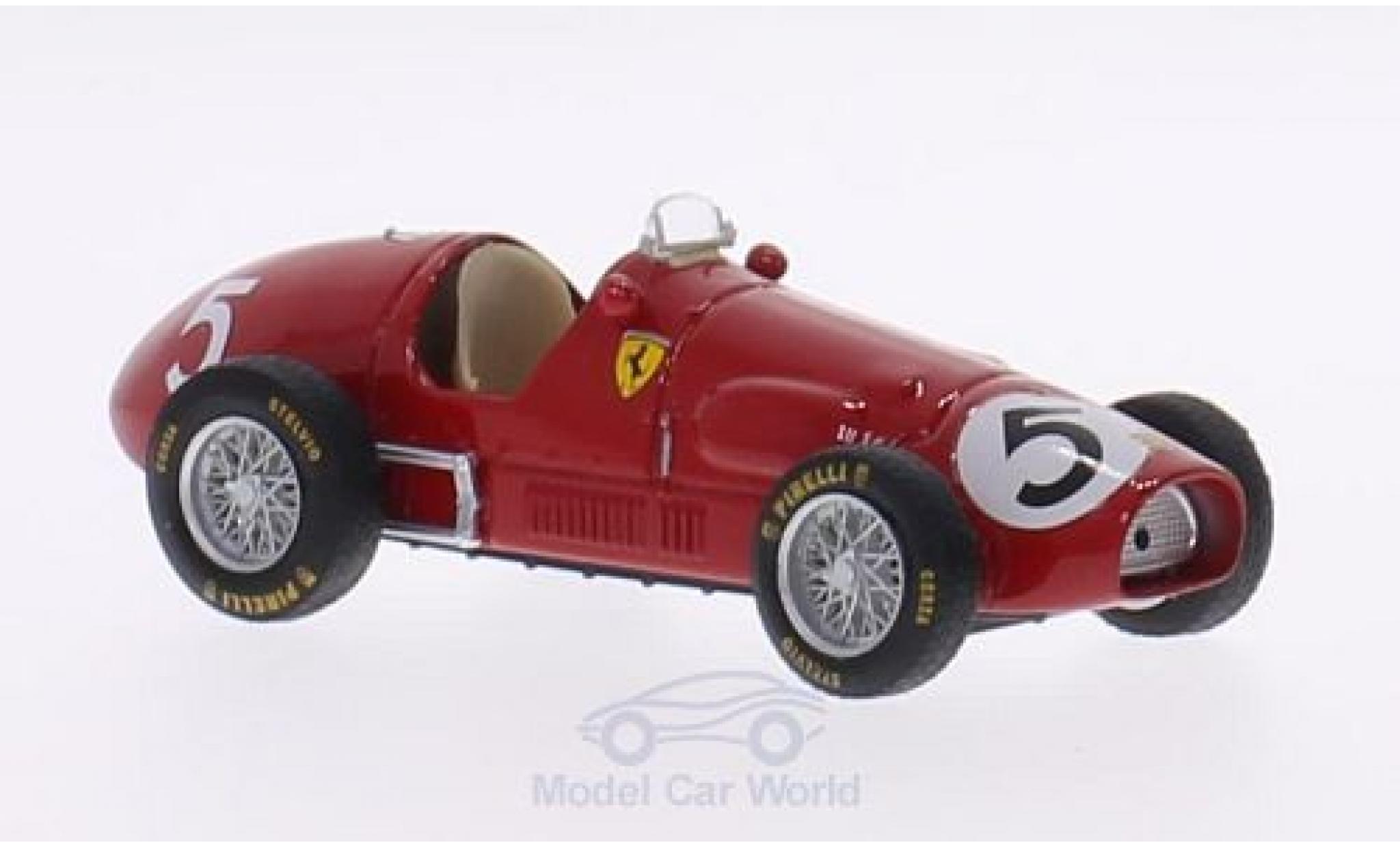 Ferrari 500 1/43 Brumm F2 No.5 Scuderia Formel 2 GP Großbritannien 1953 A.Ascari