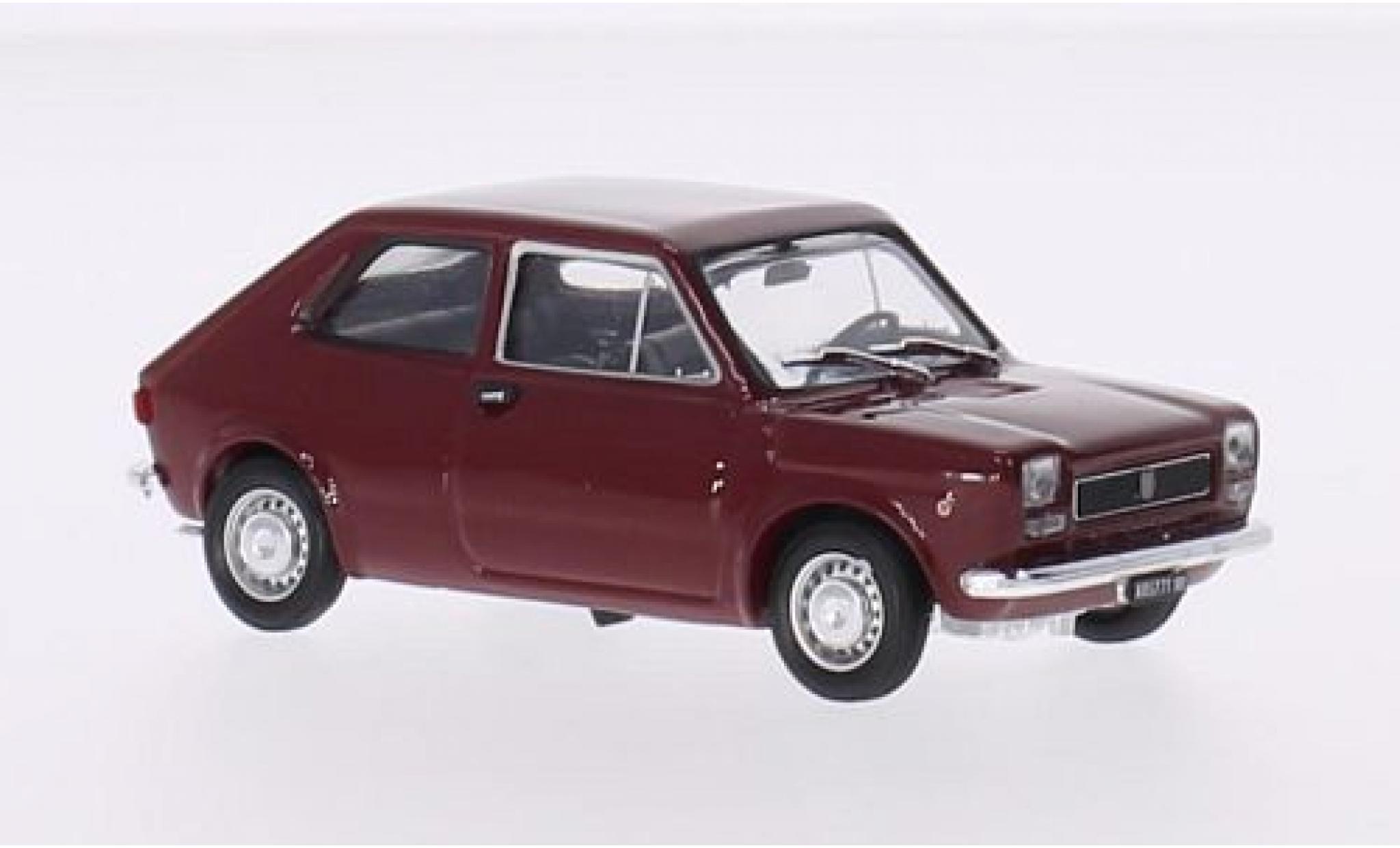 Fiat 127 1/43 Brumm red 1972 2-portes
