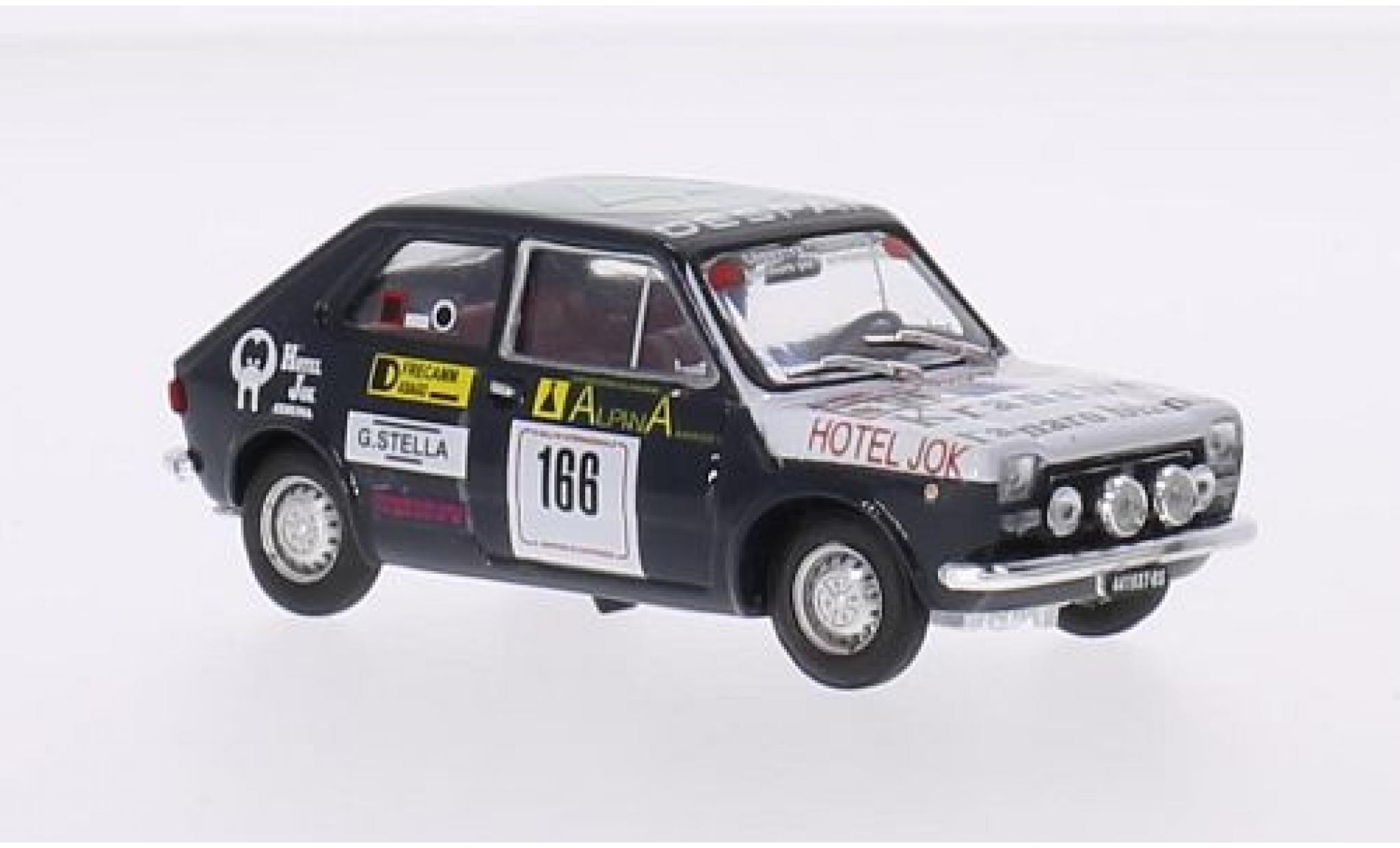 Fiat 127 1/43 Brumm No.166 Despar Rally San Martino di Castrozza 1976 V.Caneva