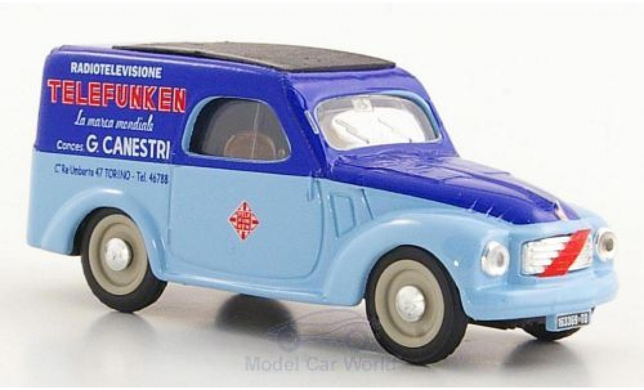 Fiat 500 L 1/43 Brumm C Belvedere Telefunken Service 1950