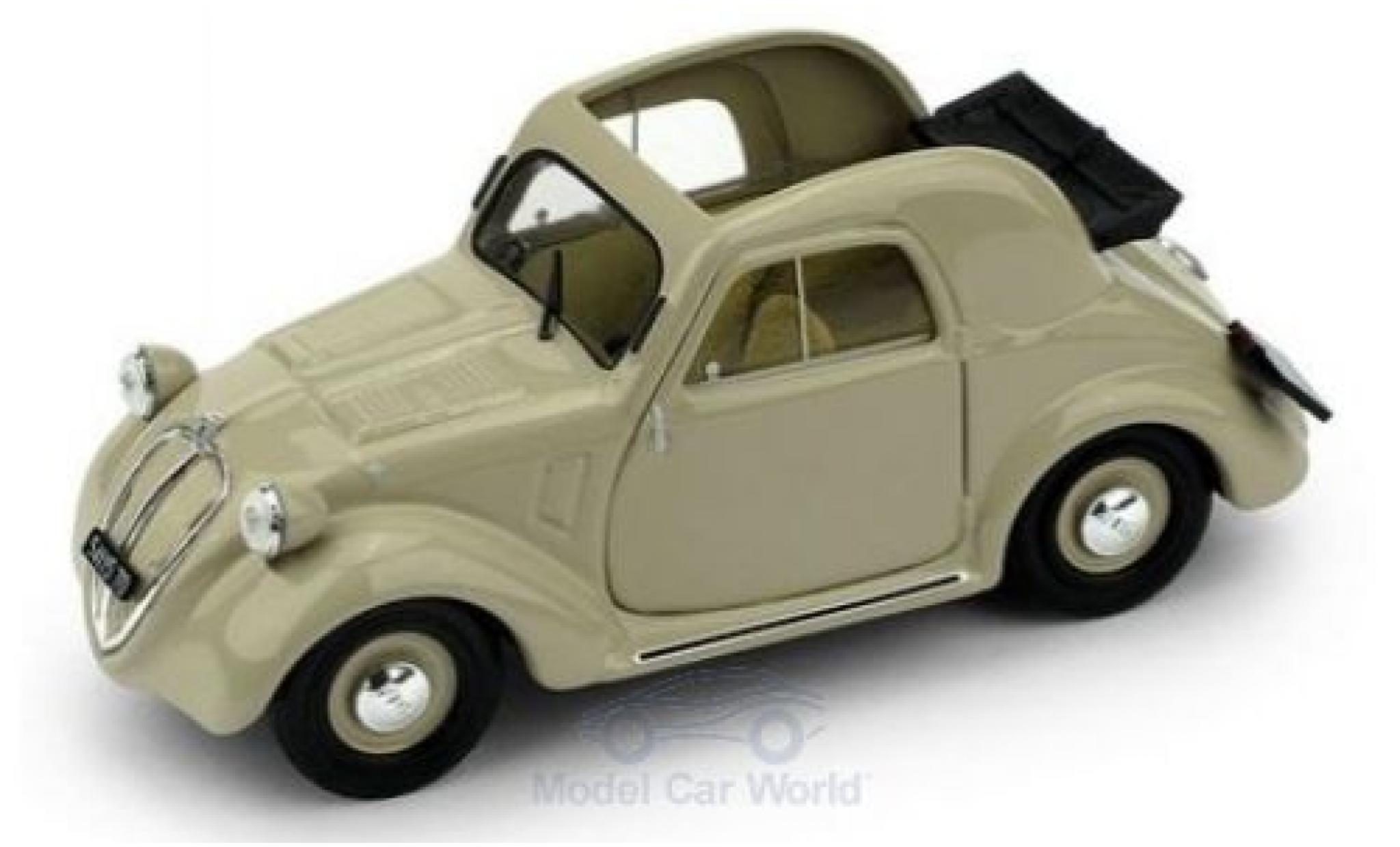 Fiat 500 1/43 Brumm A 1.Serie beige 1936