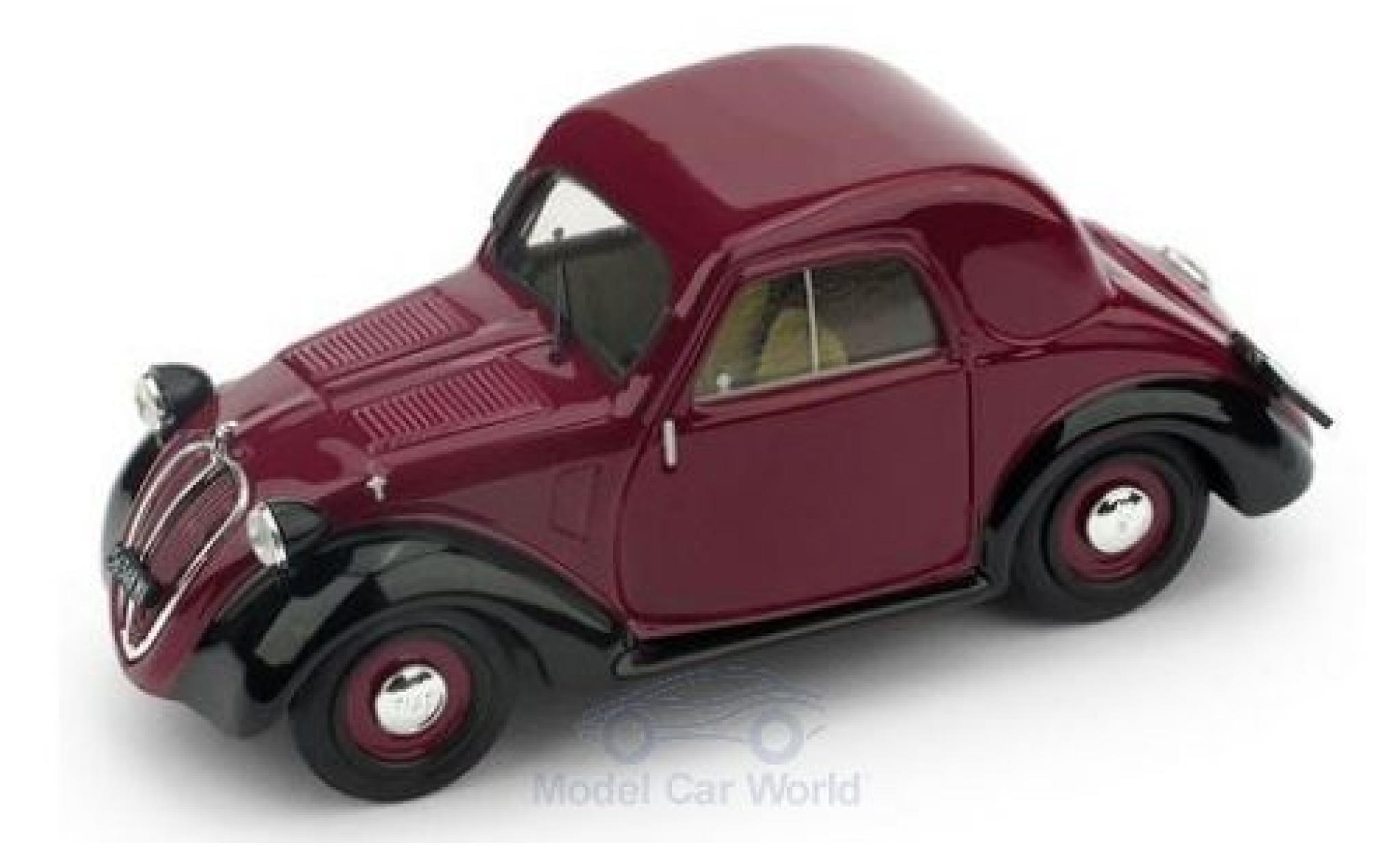 Fiat 500 1/43 Brumm A 1.Serie red/black 1936