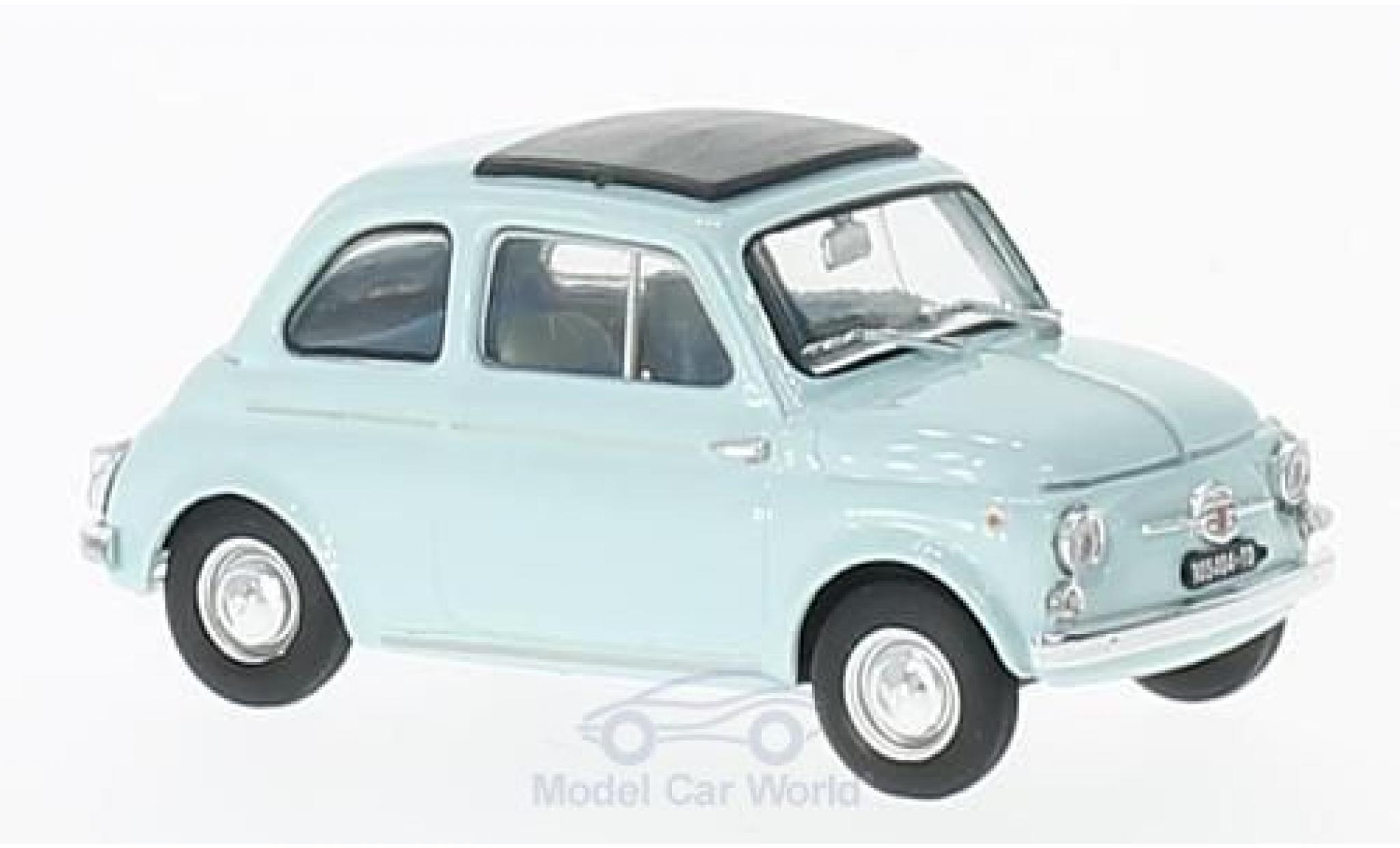 Fiat 500 1/43 Brumm D blue 1964