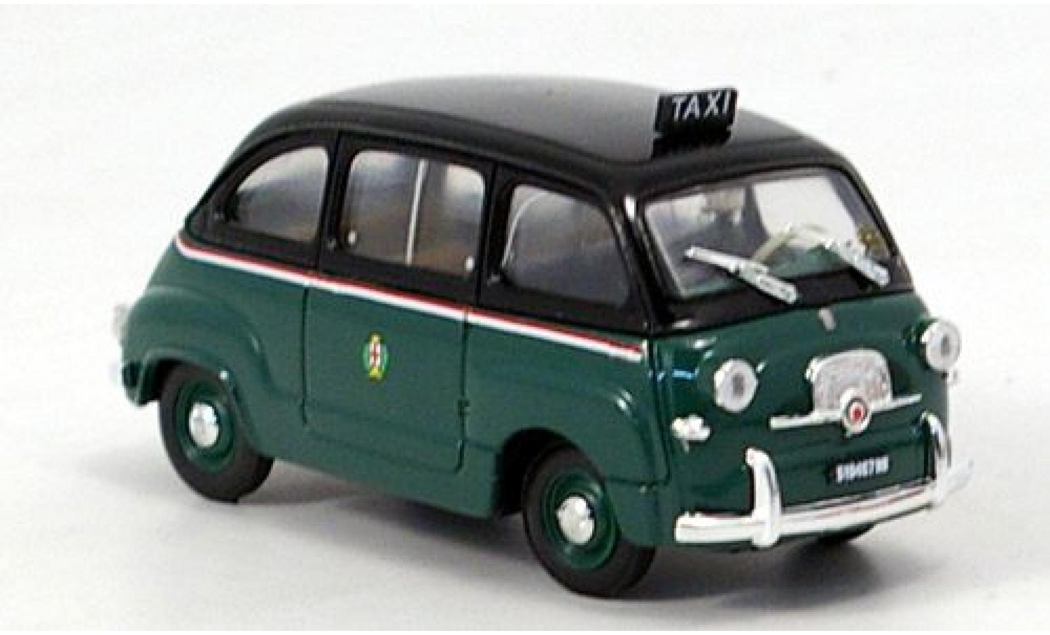 Fiat 600 1/43 Brumm Multipla Mailand 1956 Taxi