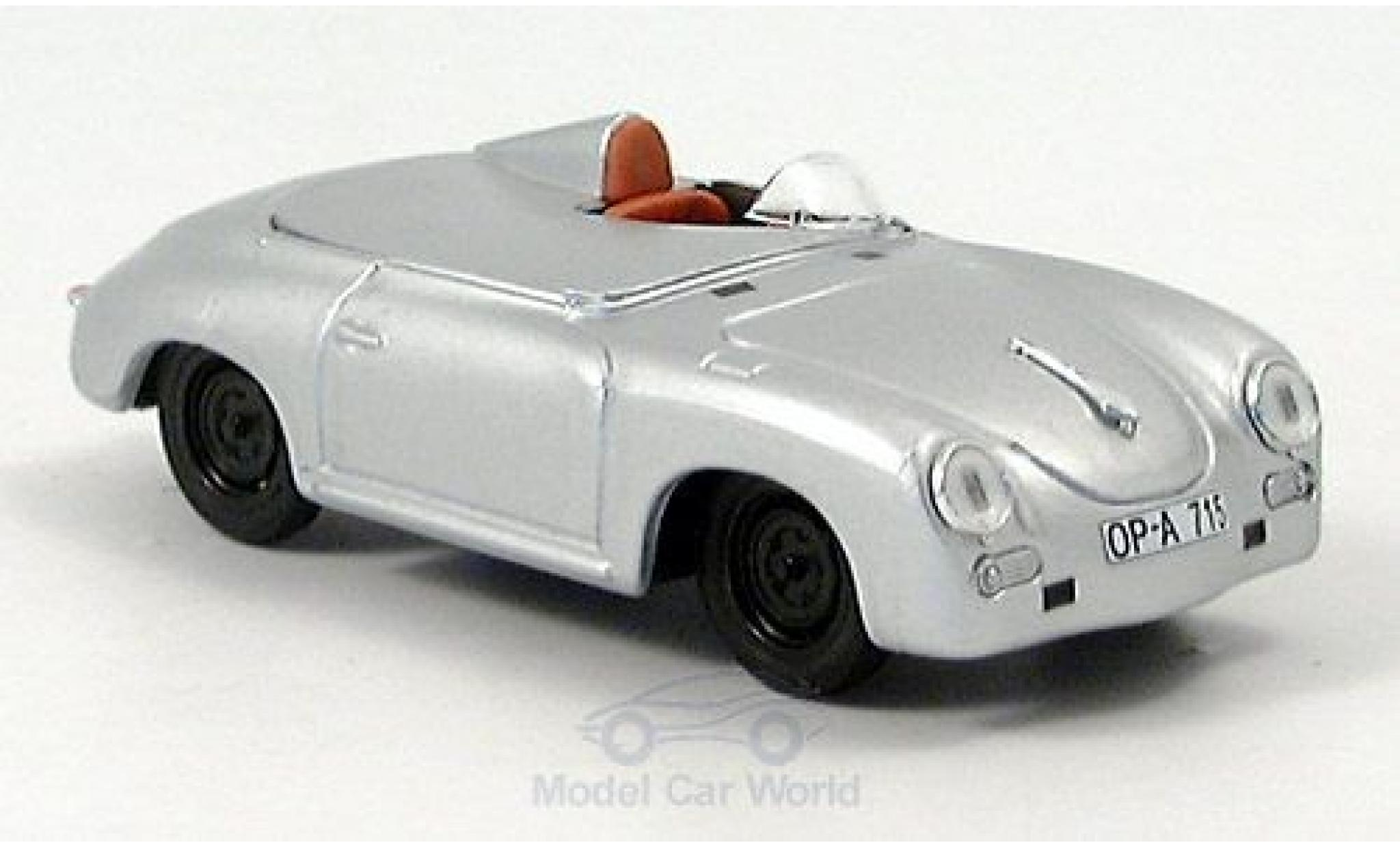 Porsche 356 1/43 Brumm Speedster Monza 1957 Rekordfahrzeug R.Goetze/R.von Frankenberg