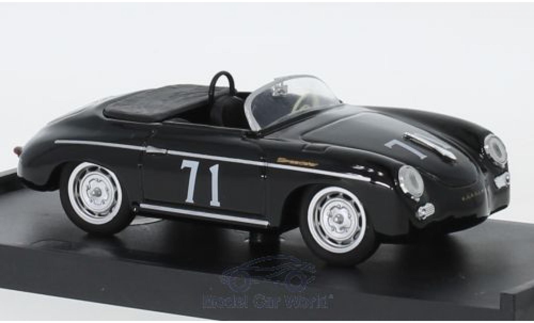 Porsche 356 1/43 Brumm Speedster No.71 Riverside 1959 S.McQueen