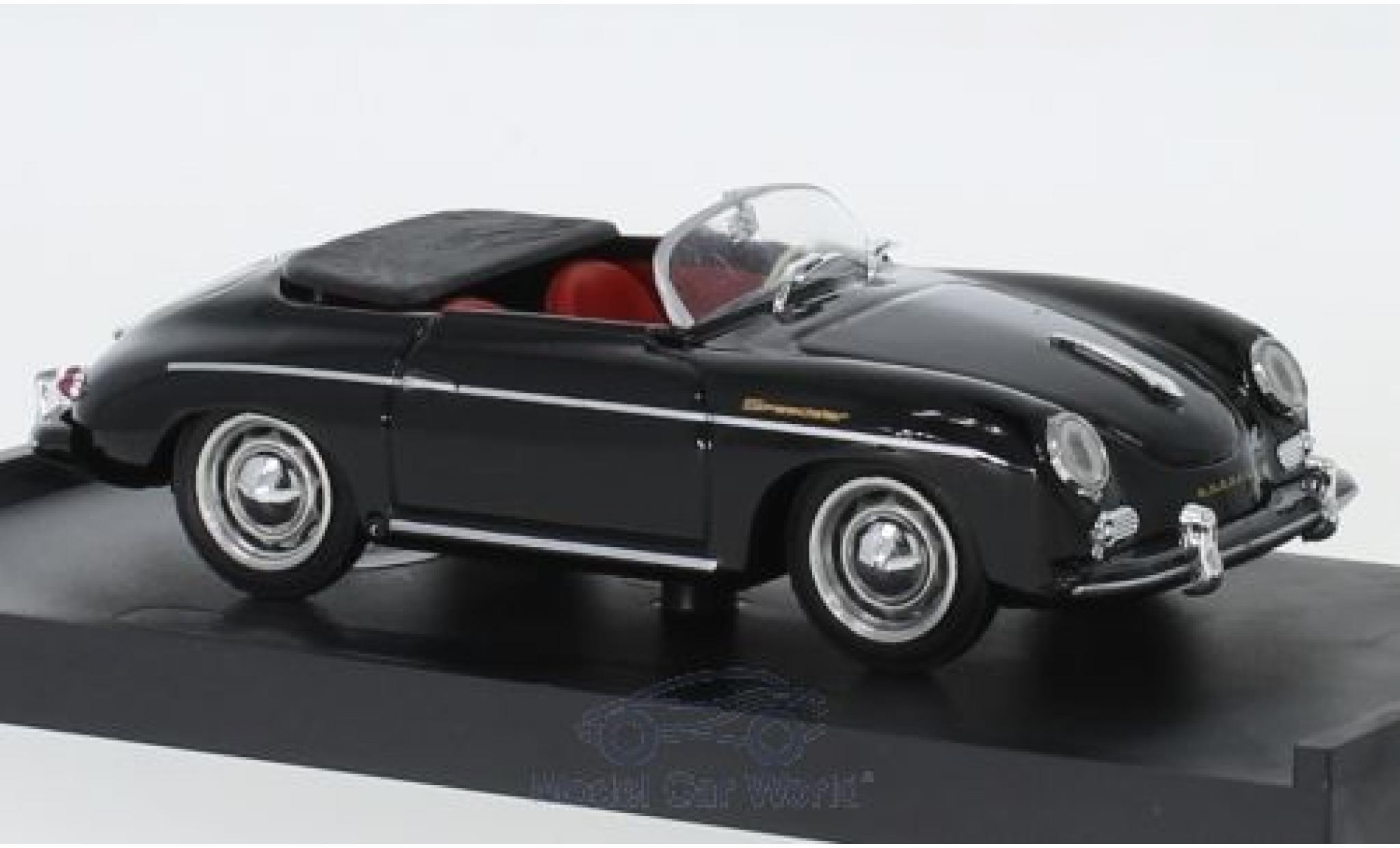 Porsche 356 1/43 Brumm Speedster schwarz 1952
