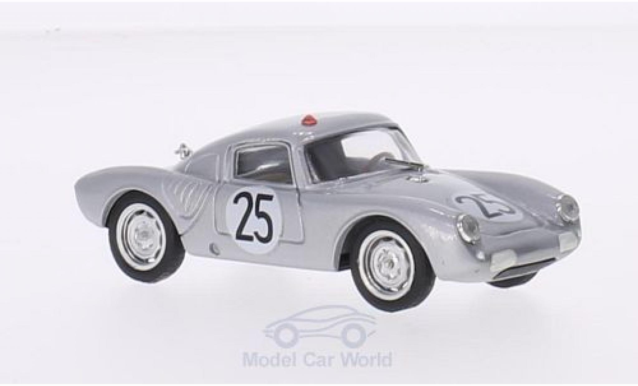 Porsche 550 1/43 Brumm A RS Coupe No.34 24h Le Mans 1956 W. von Trips/R.von Frankenberg