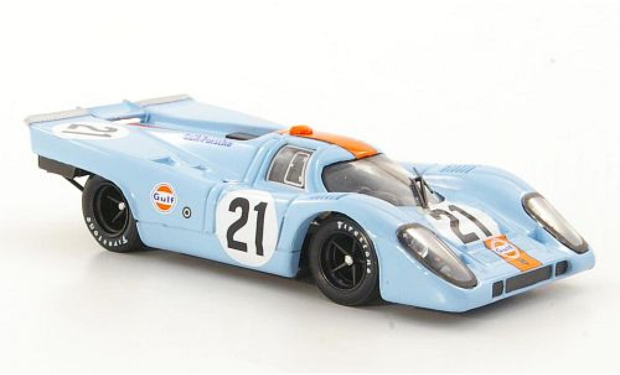 Porsche 917 1970 1/43 Brumm K RHD No.21 JWA-Gulf Racing Team Gulf 24h Le Mans P.Rodriguez/L.Kinnunen