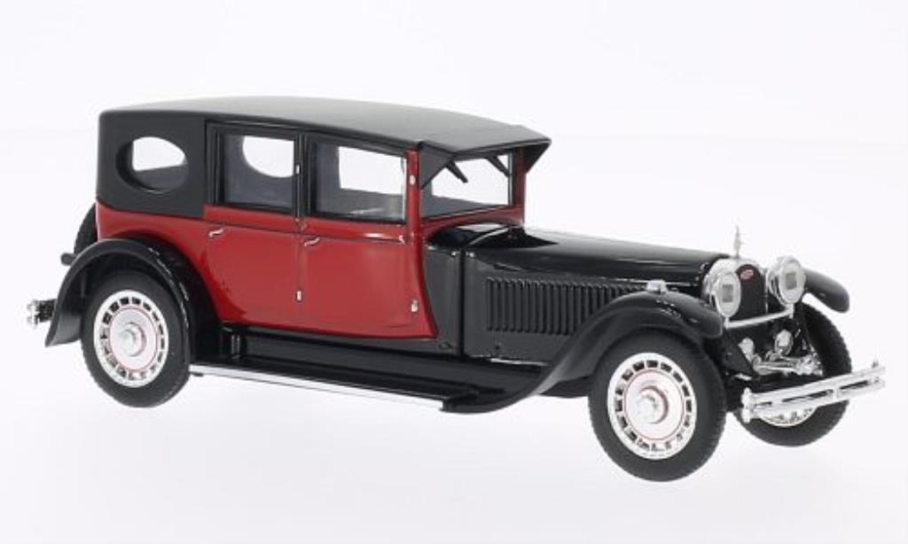 Bugatti 41 1/43 Rio Royale noire/rouge 1927 miniature