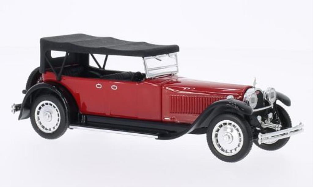Bugatti 41 1/43 Rio Royale Torpedo rouge/noire 1927 miniature