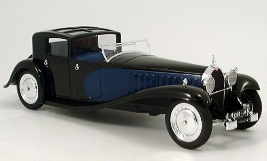 Porsche 930 1/21 Solido noire-bleu Massstab 1:21 1 miniature
