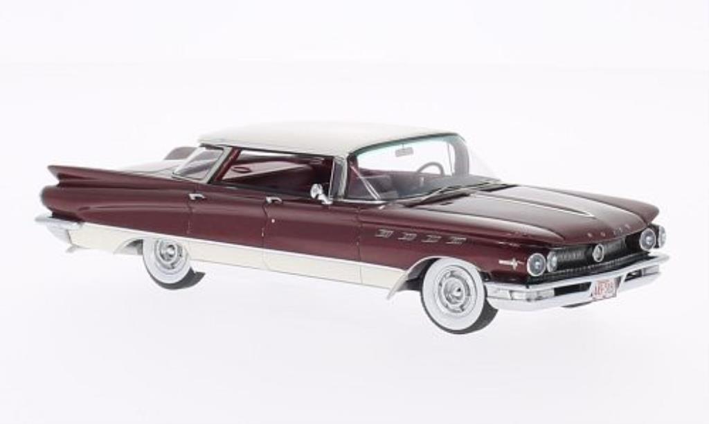 Buick Electra 1/43 Neo 225 4-Door rouge/blanche 1960 miniature