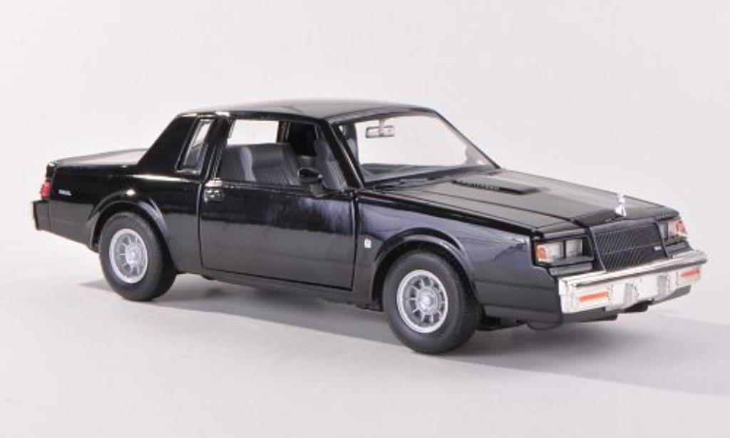 buick regal schwarz 1987 motormax modellauto 1 24 kaufen. Black Bedroom Furniture Sets. Home Design Ideas