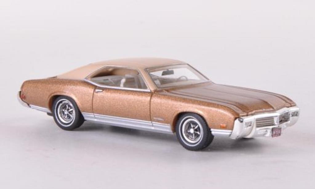 Buick Riviera 1/87 Neo GS gold/beige 1969 miniature