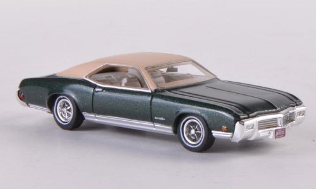 Buick Riviera 1/87 Neo GS verte/beige 1969 miniature