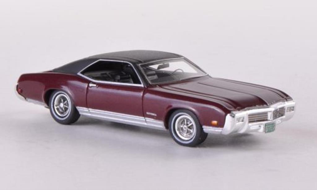 Buick Riviera 1/87 Neo GS rouge/noire 1969 miniature