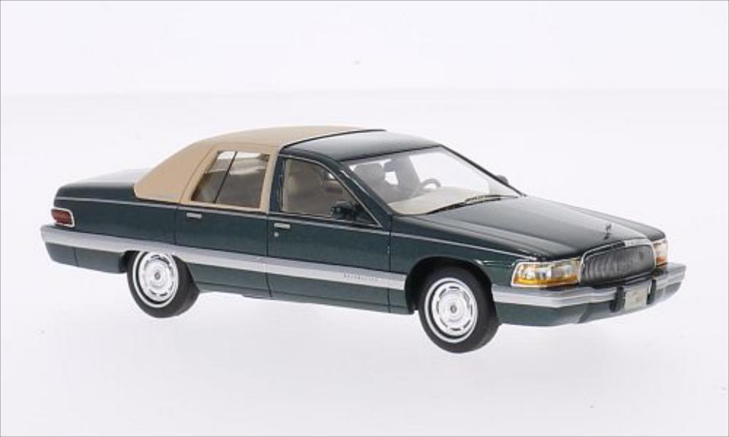Buick Roadmaster 1/43 GLM grun/beige 1994 miniature