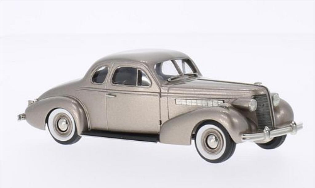 Buick Special 1/43 Brooklin 2-door Coupe M-46 metallise beige 1937 miniature