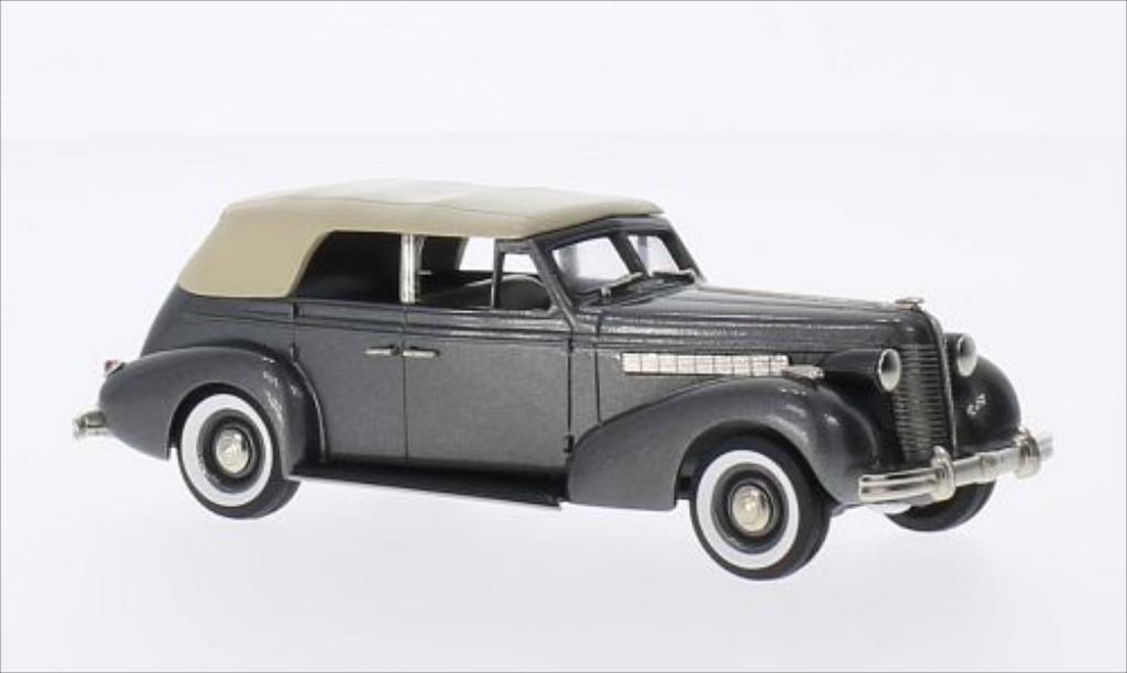 Buick Special 1/43 Brooklin 4-door Phaeton M-40C metallic-grise/beige 1938 miniature