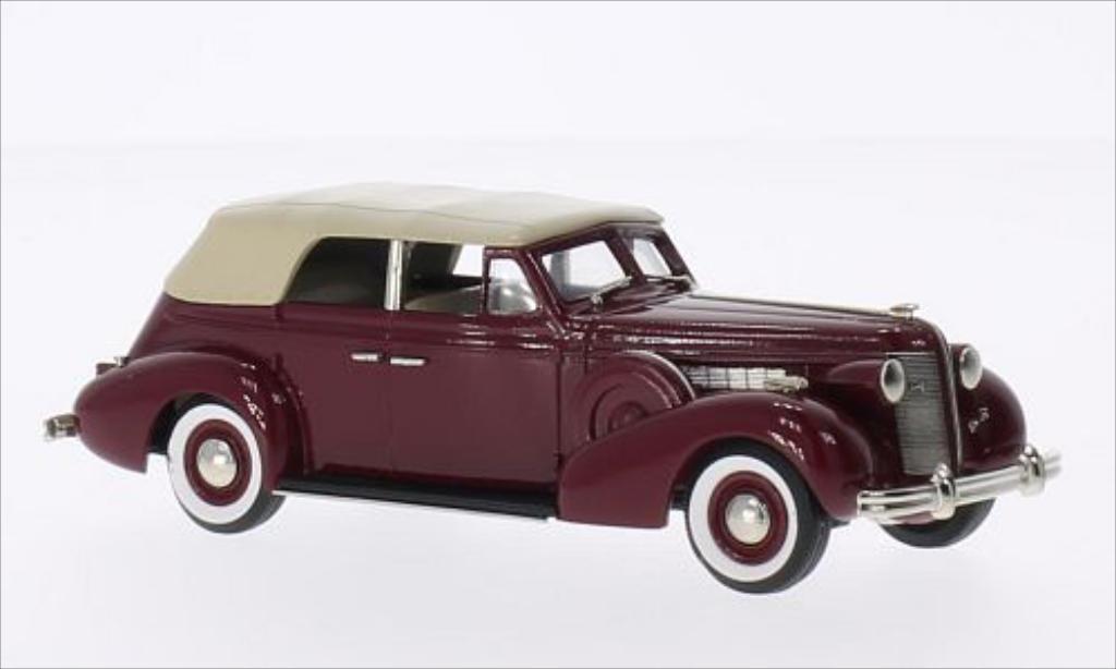 Buick Special 1/43 Brooklin 5-Passenger Convertible Phaeton rouge/beige 1937 miniature